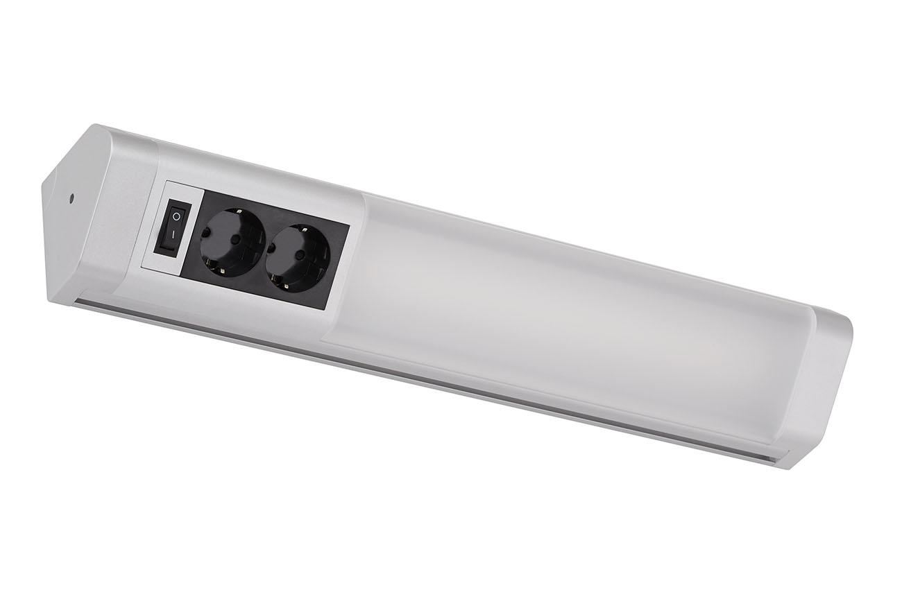 TELEFUNKEN LED Unterbauleuchte, 50,1 cm, 10 W, Titan-Schwarz
