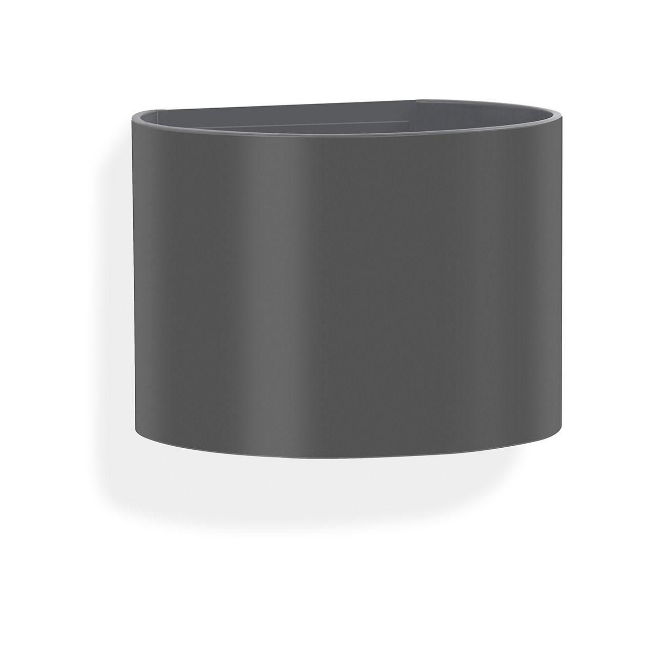 TELEFUNKEN LED Aussenleuchte, 14 cm, 7 W, Anthrazit