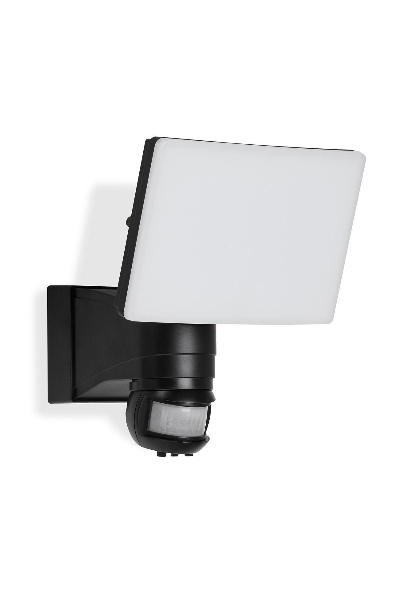 TELEFUNKEN LED Sensor Aussenstrahler, 21,7 cm, 20 W, Schwarz