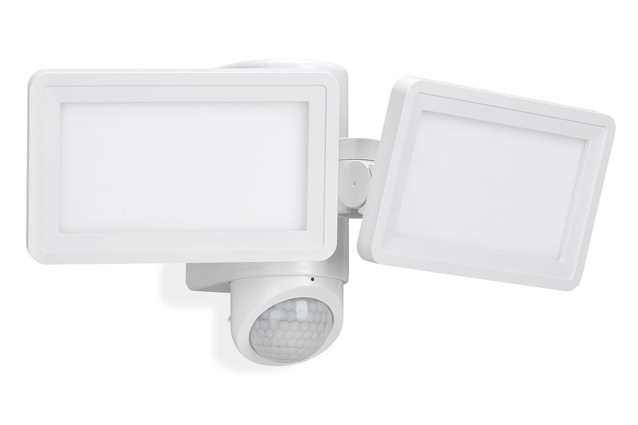 TELEFUNKEN LED Sensor Außenstrahler, 32,2 cm, 18 W, Weiß