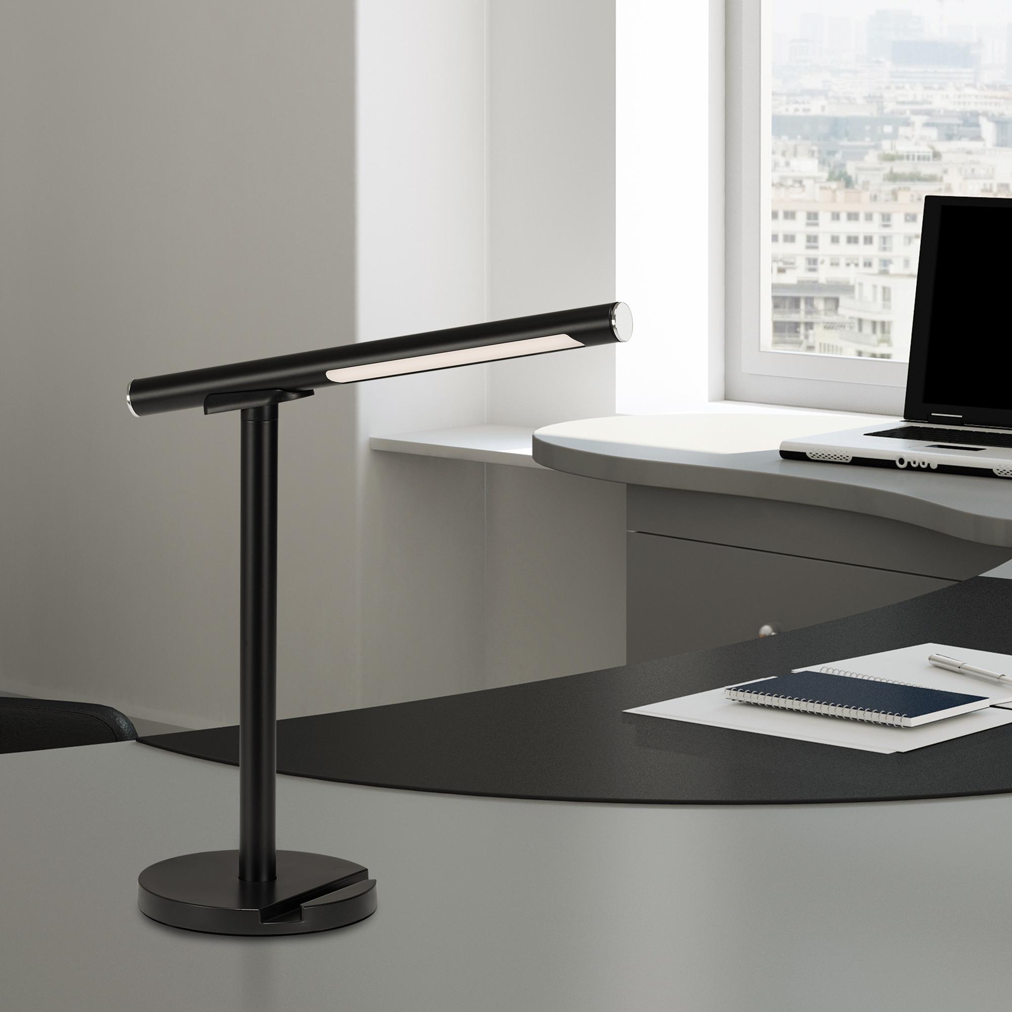 USB LED Wand- und Tischleuchte Schwarz