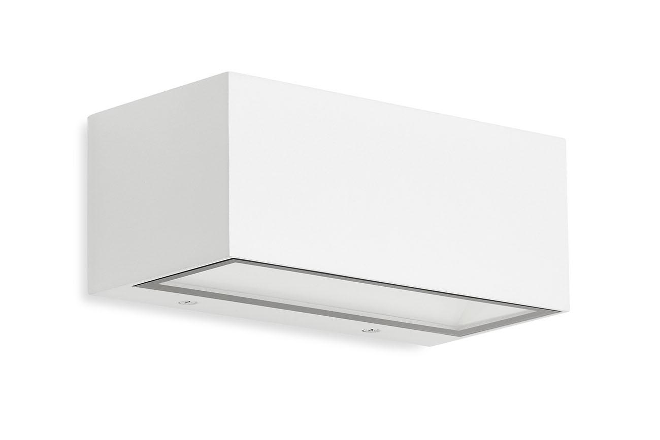 TELEFUNKEN LED Außenwandleuchte, 18,5 cm, 6 W, Weiß