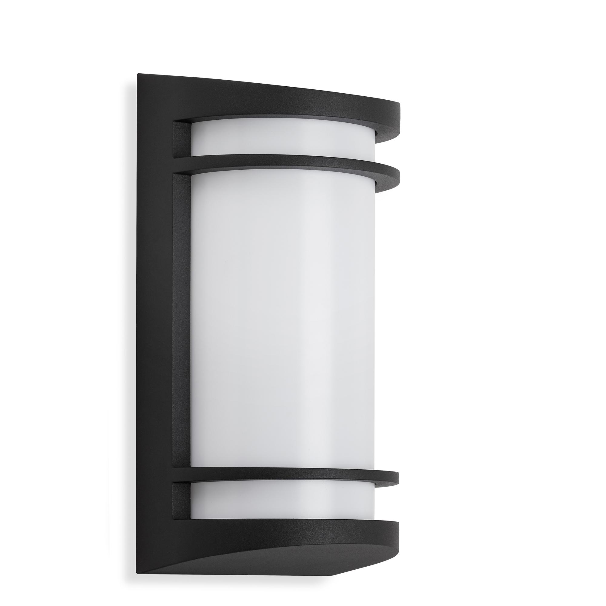TELEFUNKEN LED Außenwandleuchte, 14 cm, 10 W, Schwarz