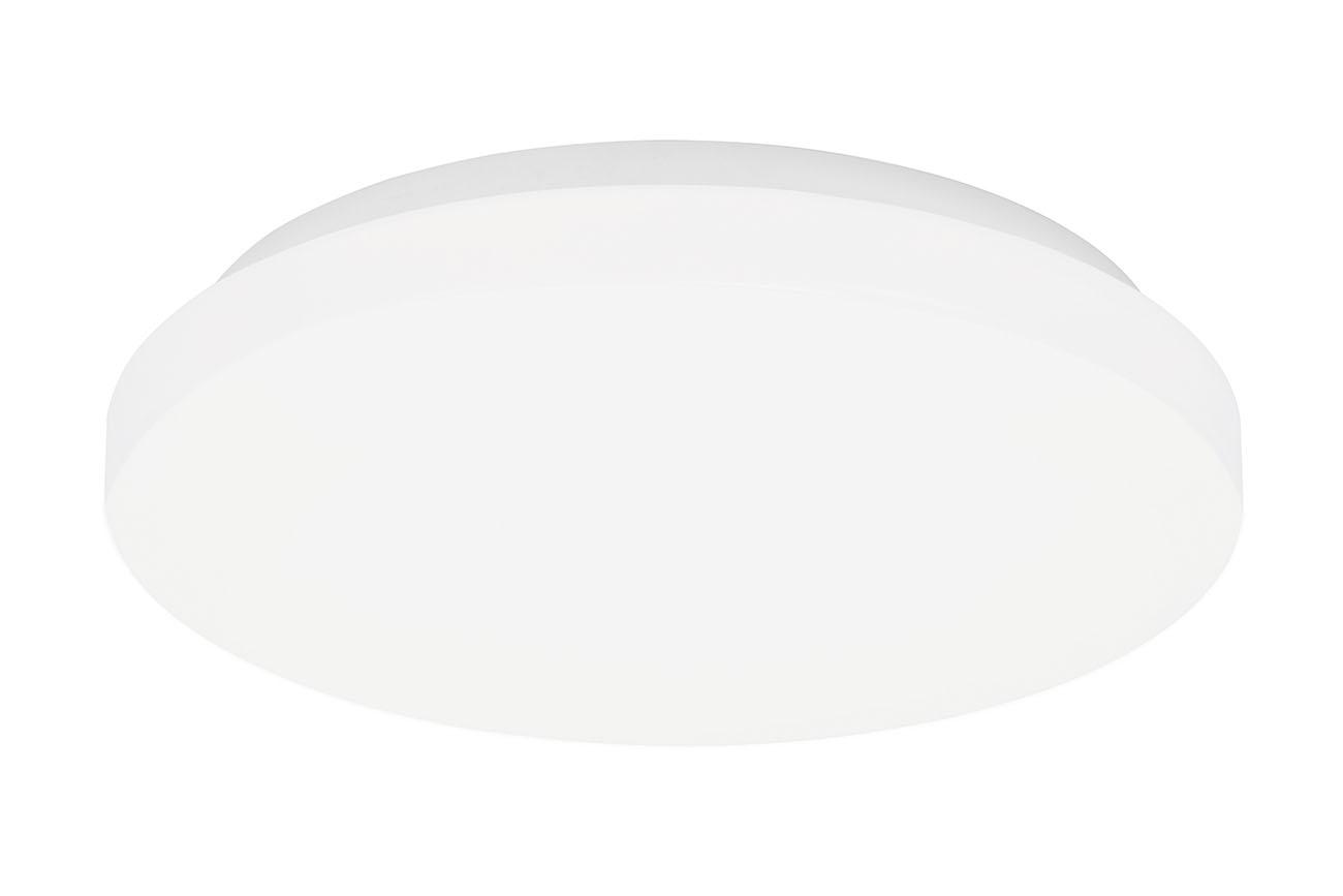 LED Deckenleuchte, Ø 29 cm, 12 W, Weiß