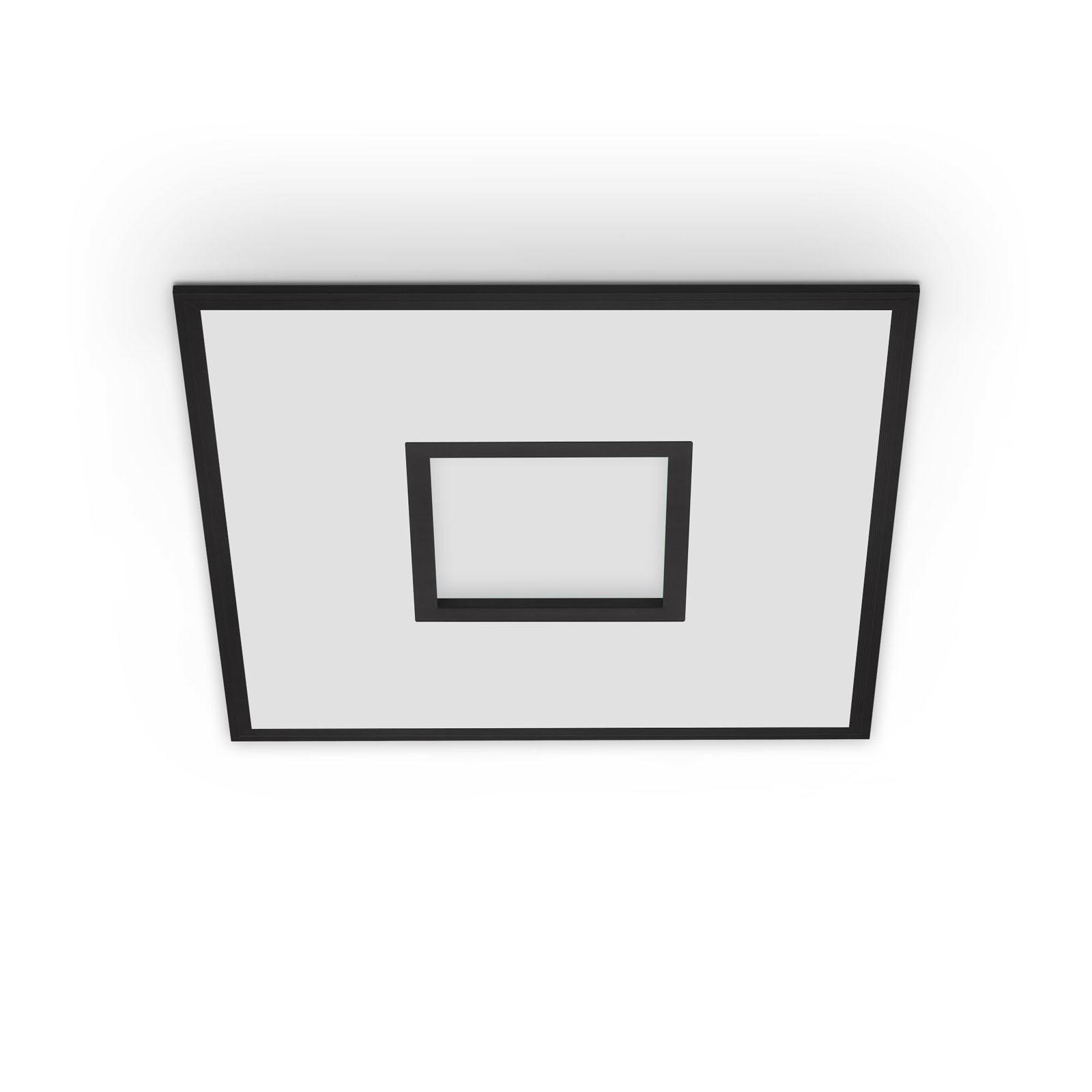 TELEFUNKEN CCT LED Panel, 59,5 cm, 36 W, Schwarz