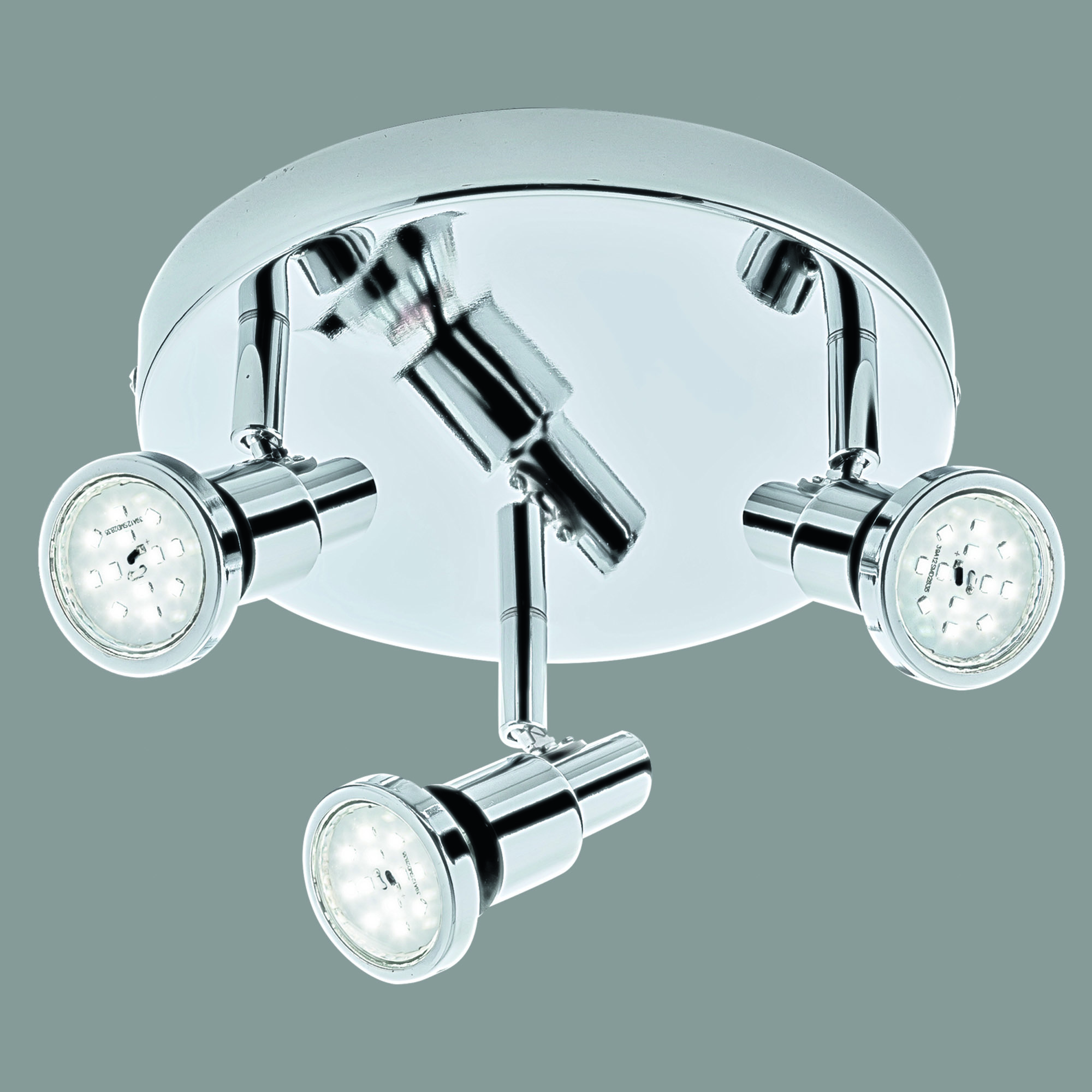 LED Spot Deckenleuchte, Ø 21 cm, 12 W, Chrom