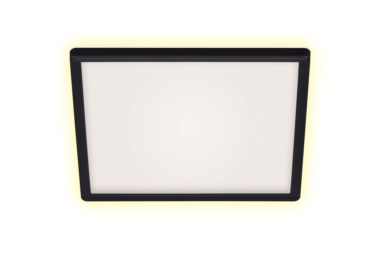 SLIM LED Panel, 29,3 cm, 18 W, Schwarz