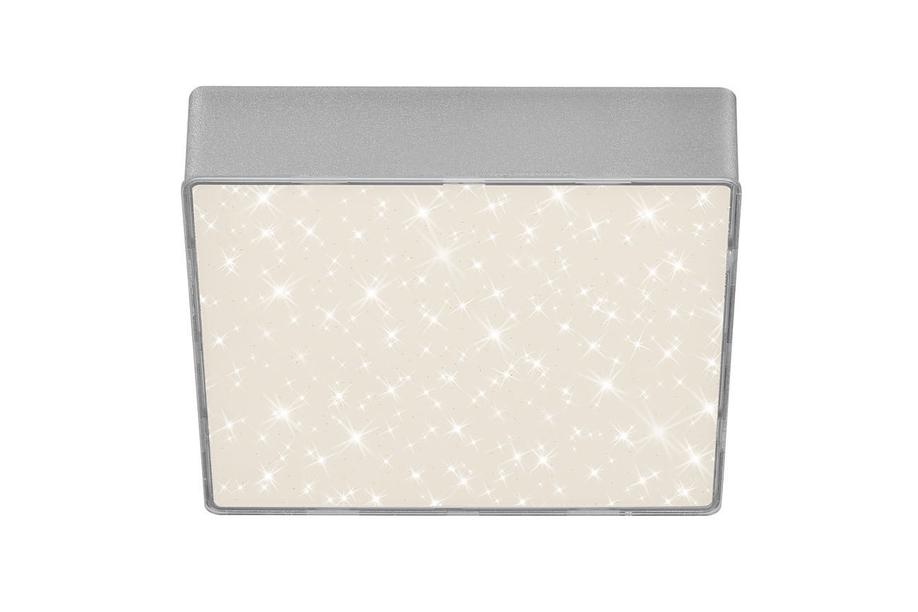 STERNENHIMMEL LED Deckenleuchte, 15,7 cm, 11 W, Silber
