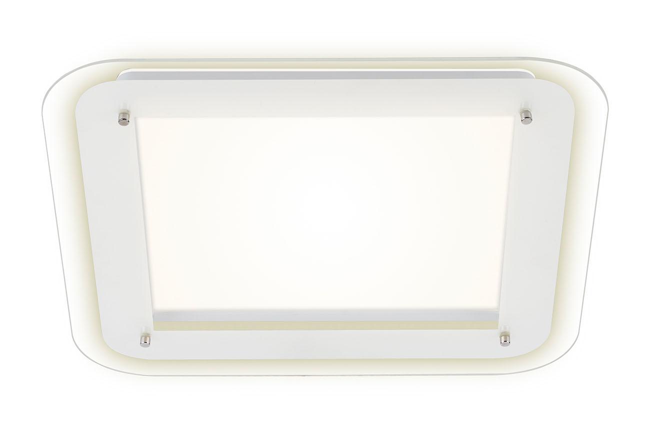 LED Deckenleuchte, 40 cm, 18 W, Weiss