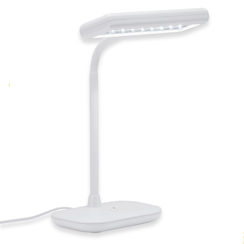 LED Tischleuchte Weiß