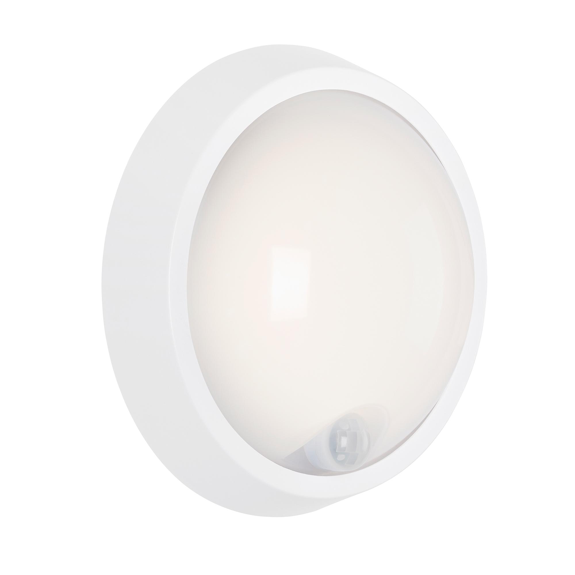 SENSOR LED Außenleuchte Weiß