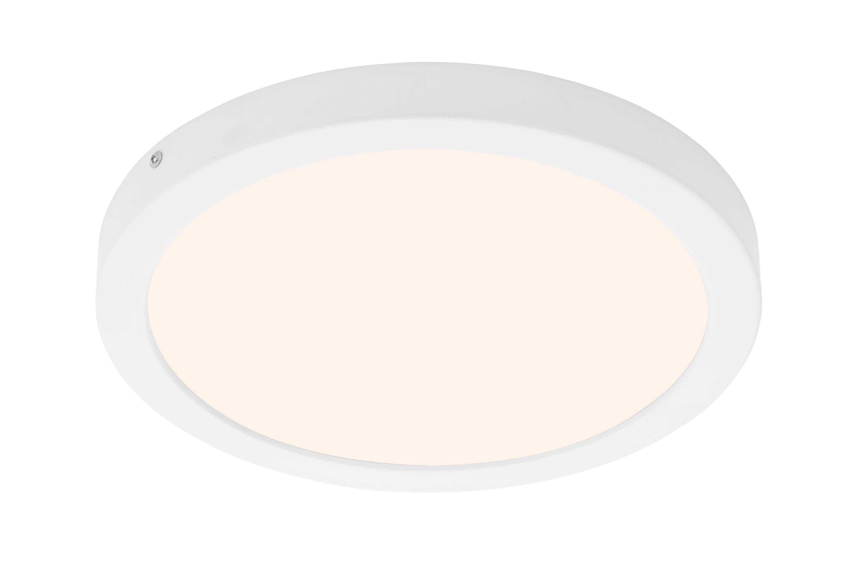 LED Deckenleuchte, Ø 30 cm, 21 W, Weiß