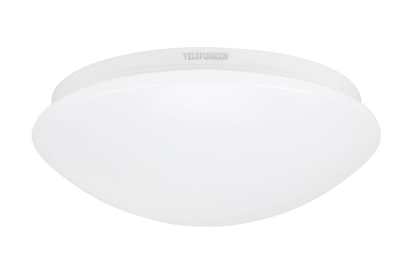 TELEFUNKEN LED Deckenleuchte, Ø 28 cm, 15 W, Weiss