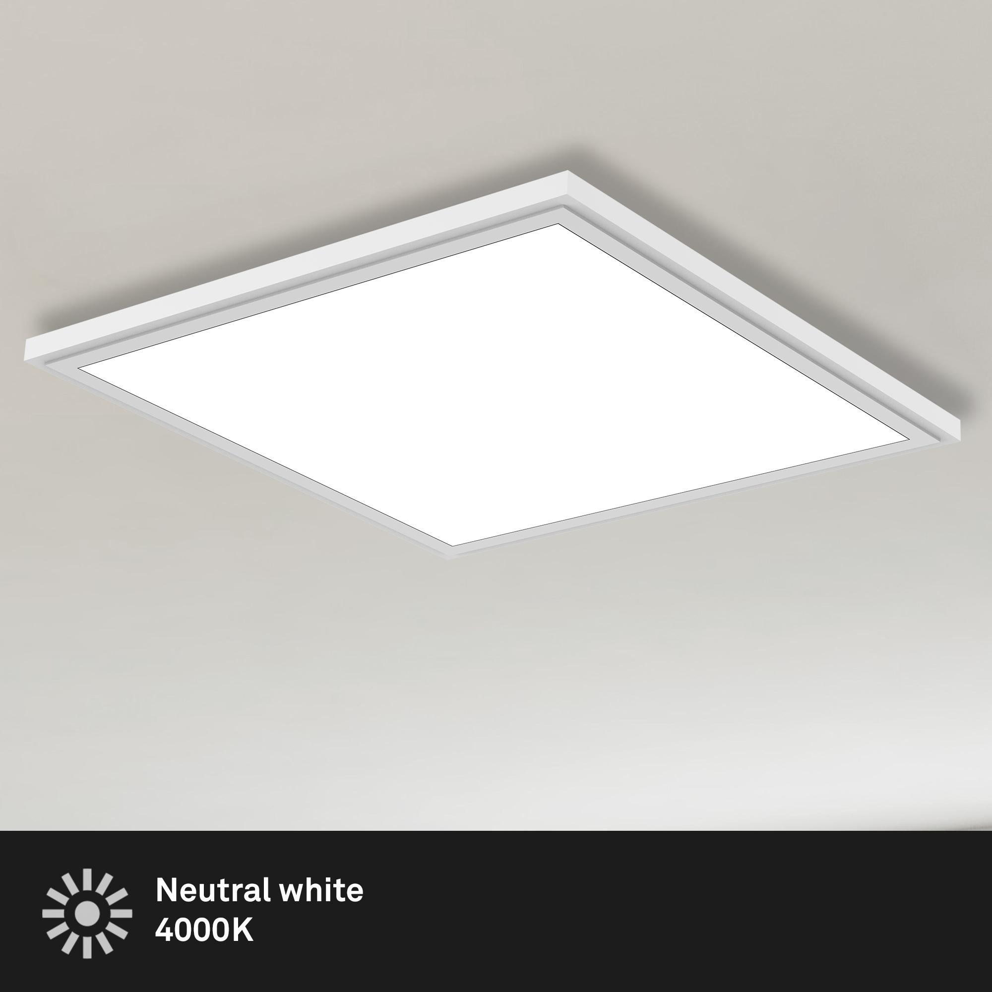 LED Panel Weiß