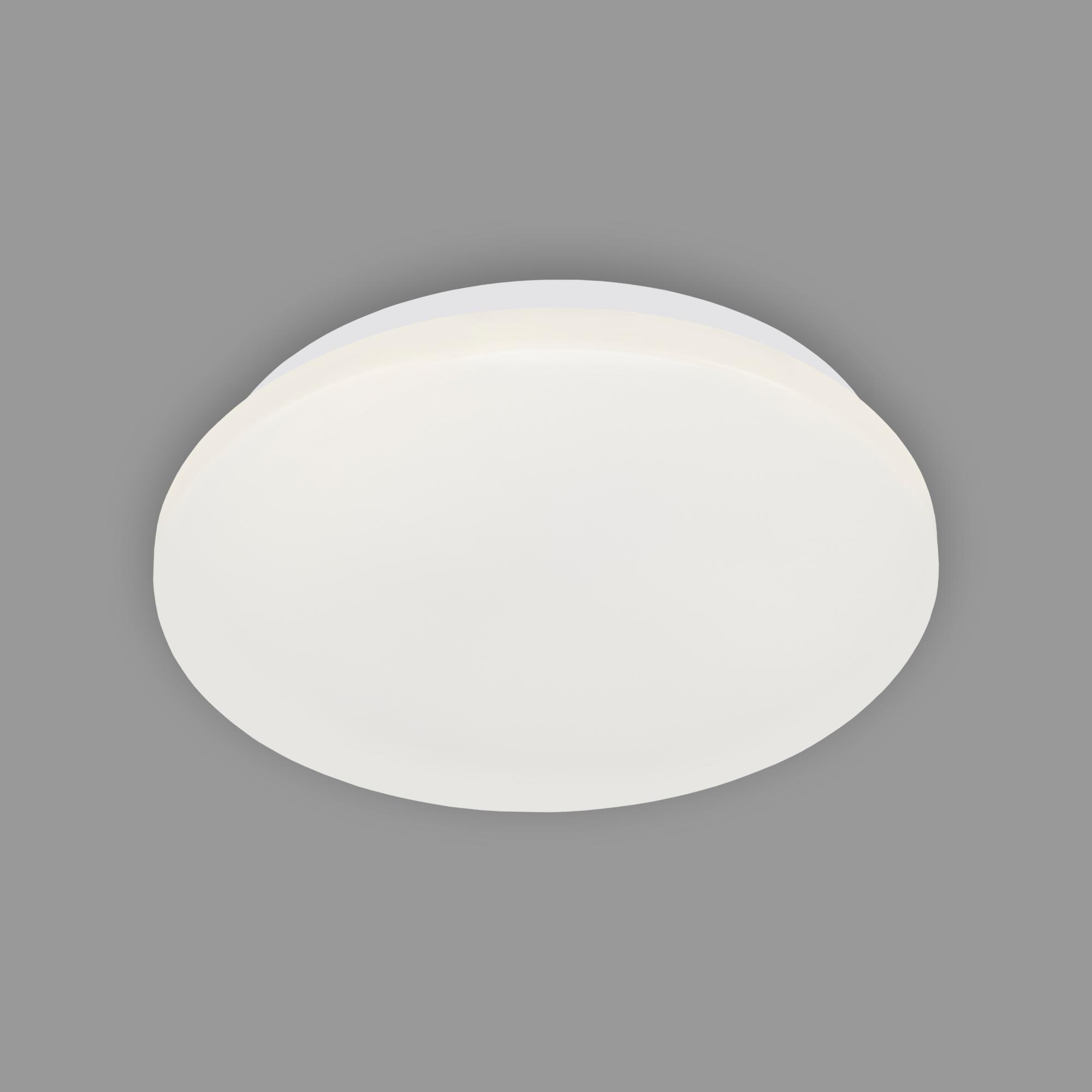 LED Deckenleuchte, Ø 22 cm, 10 W, Weiß