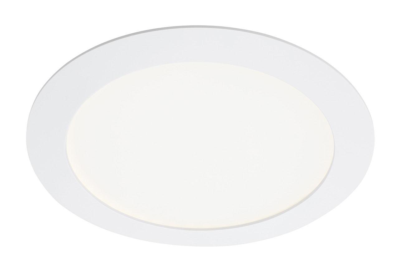 TELEFUNKEN Smart LED Einbauleuchte, Ø 17 cm, 12 W, Weiss
