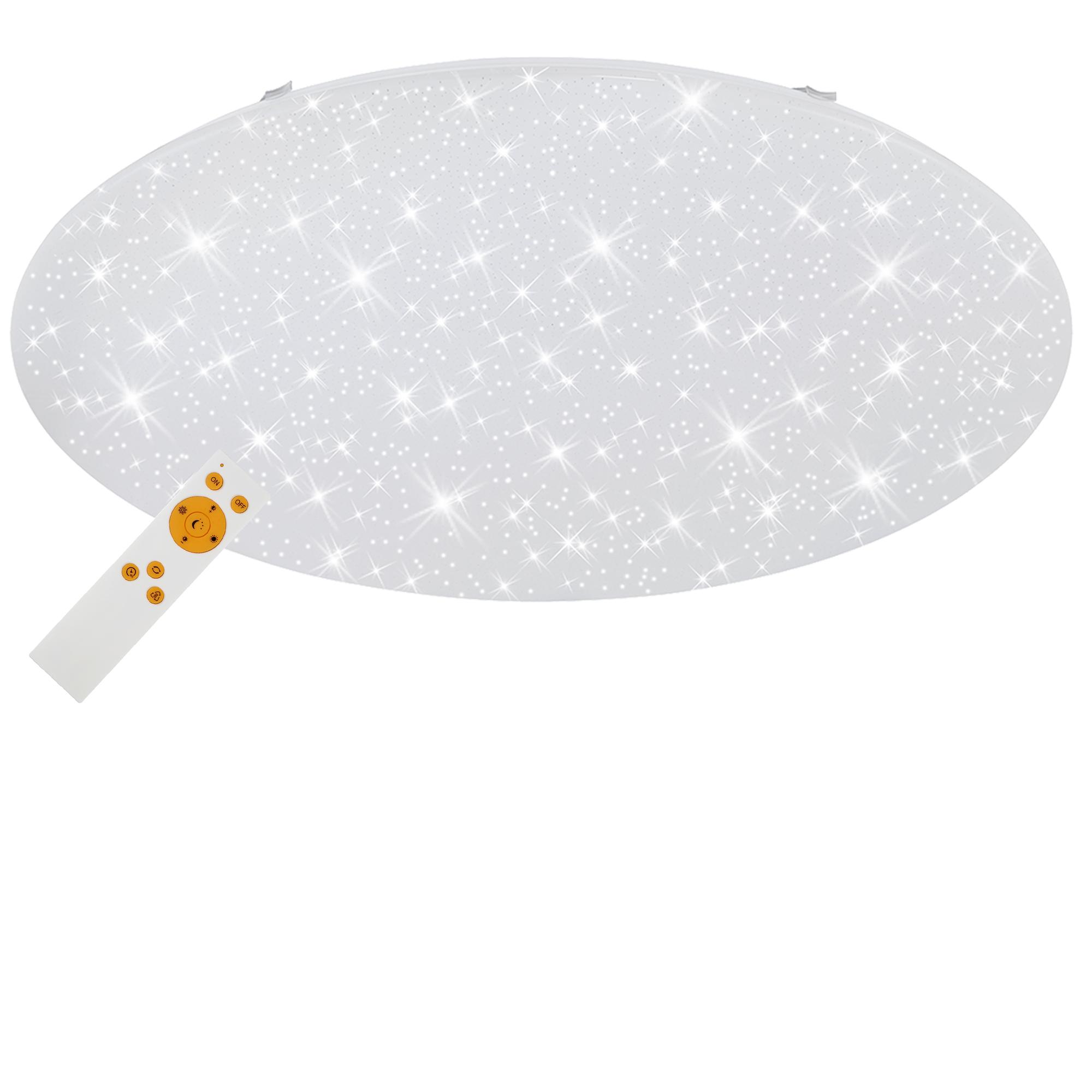 STERNENHIMMEL LED Deckenleuchte, Ø 76 cm, 80 W, Weiss
