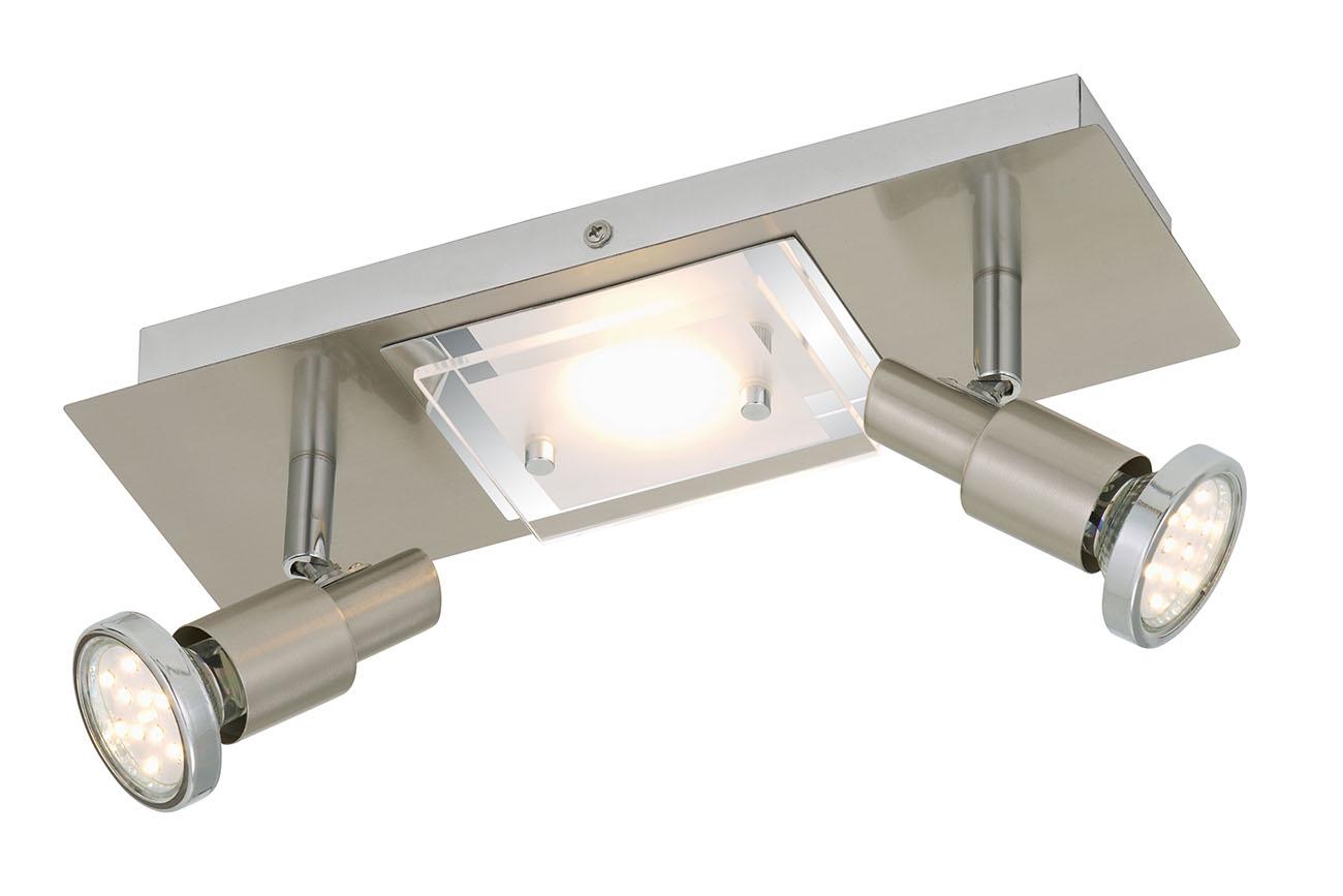 LED Spot Deckenleuchte, 30 cm, 11 W, Matt-Nickel