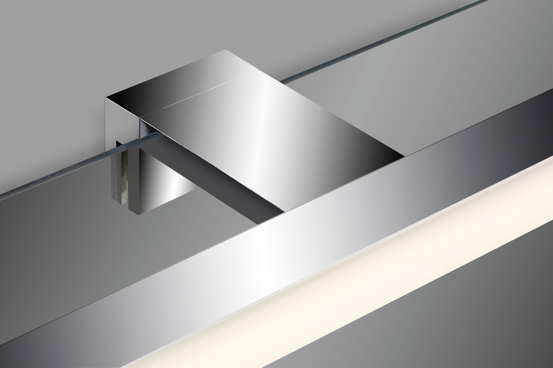 LED Spiegelleuchte, 52,5 cm, 10 W, Chrom