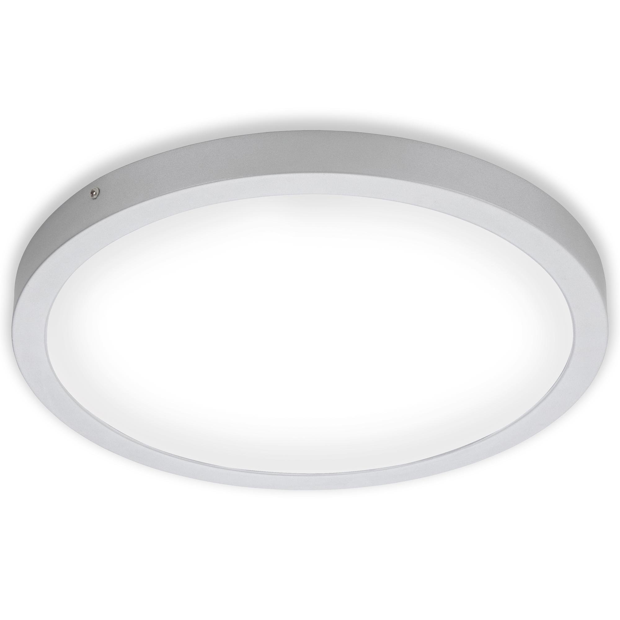 LED Deckenleuchte, Ø 40,5 , 24,5 W, Chrom-Matt