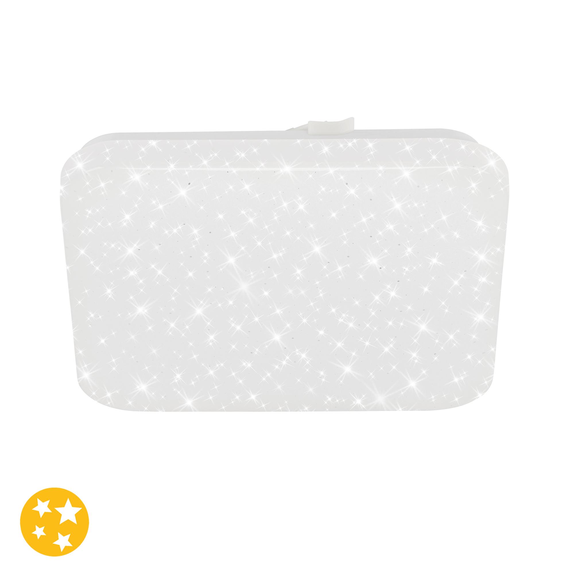 STERNENHIMMEL LED Deckenleuchte, 22 cm, 8 W, Weiss