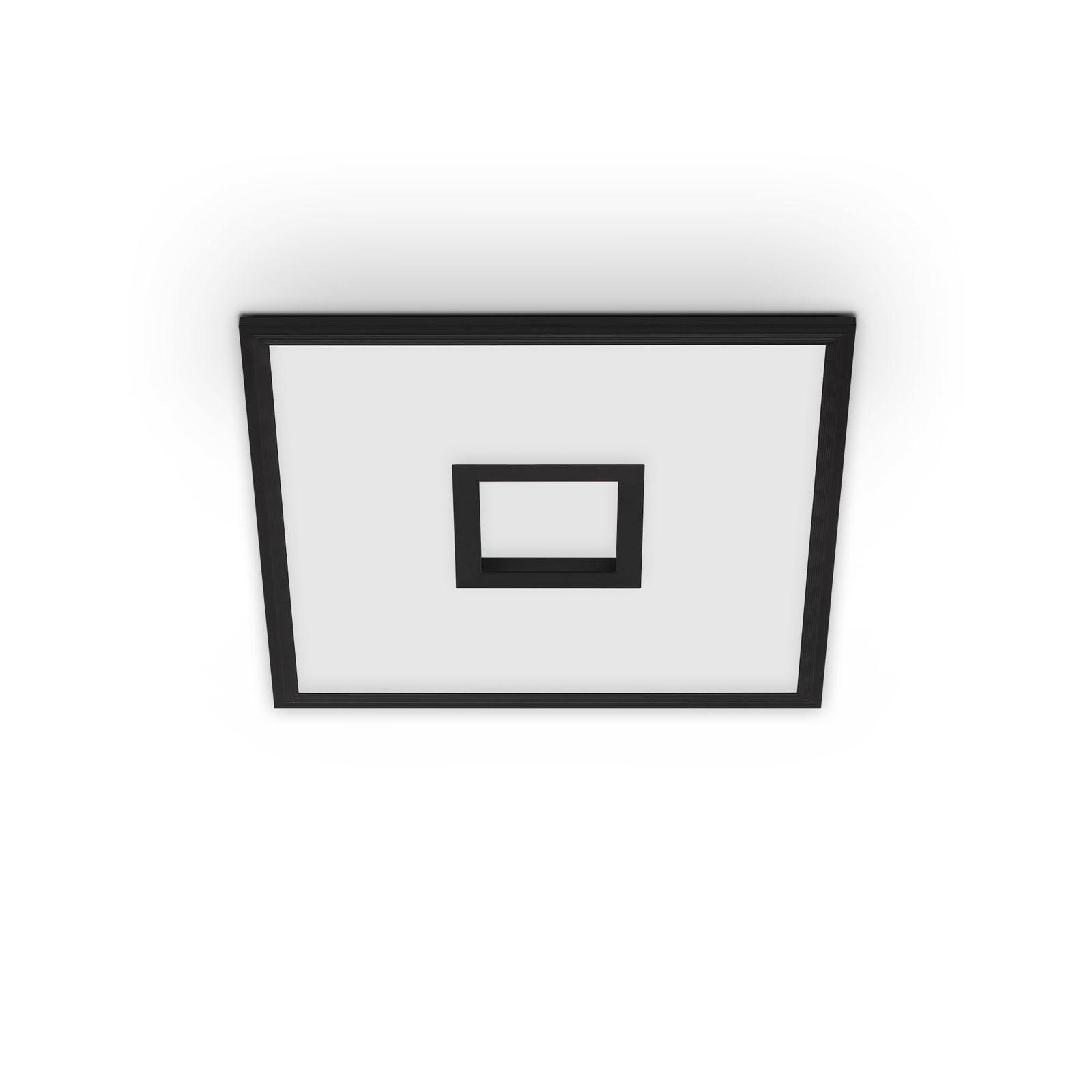 TELEFUNKEN CCT LED Panel, 44,5 cm, 24 W, Schwarz