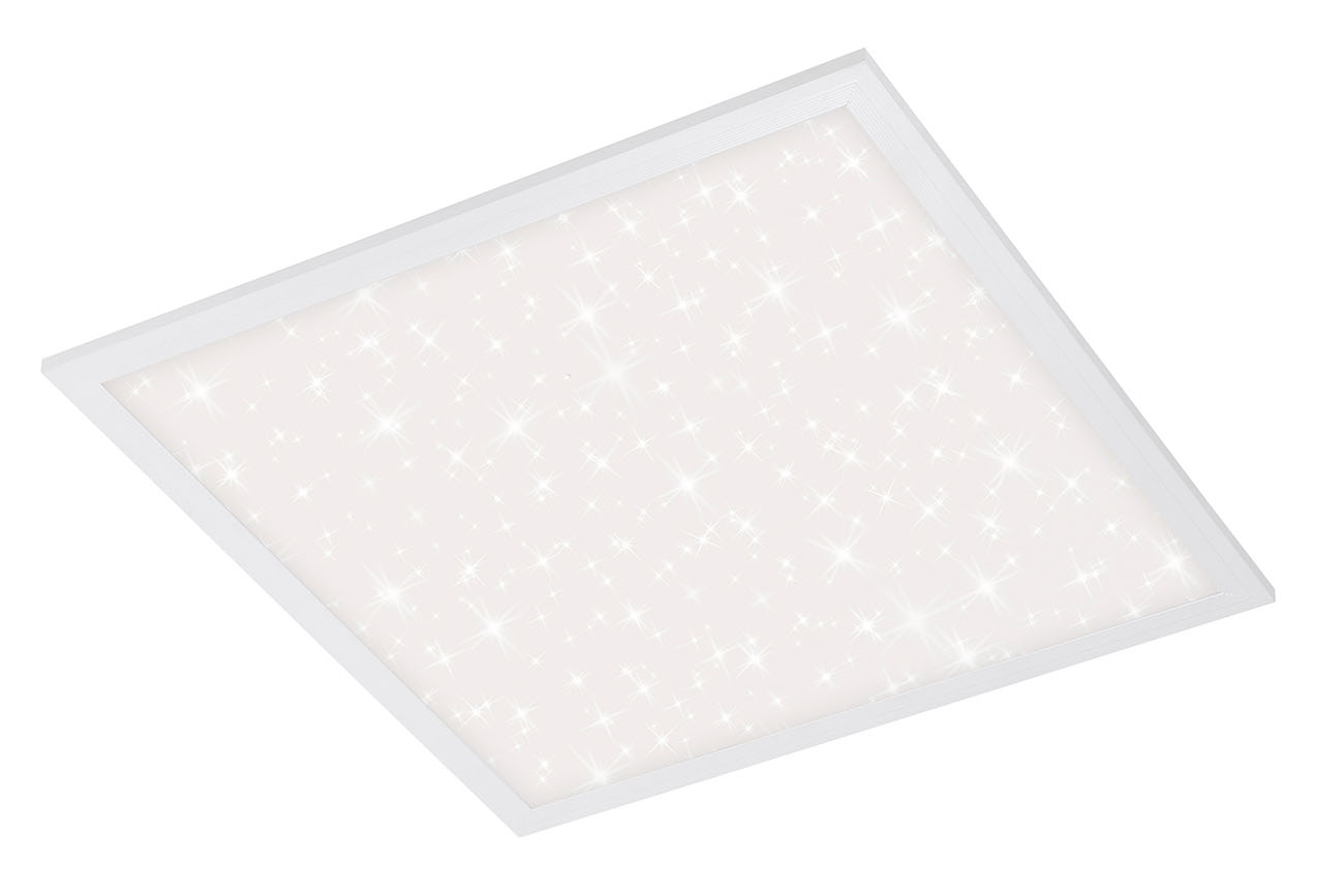 STERNENHIMMEL LED Panel, 29,5 cm, 1800 LUMEN, 18 WATT, Weiss