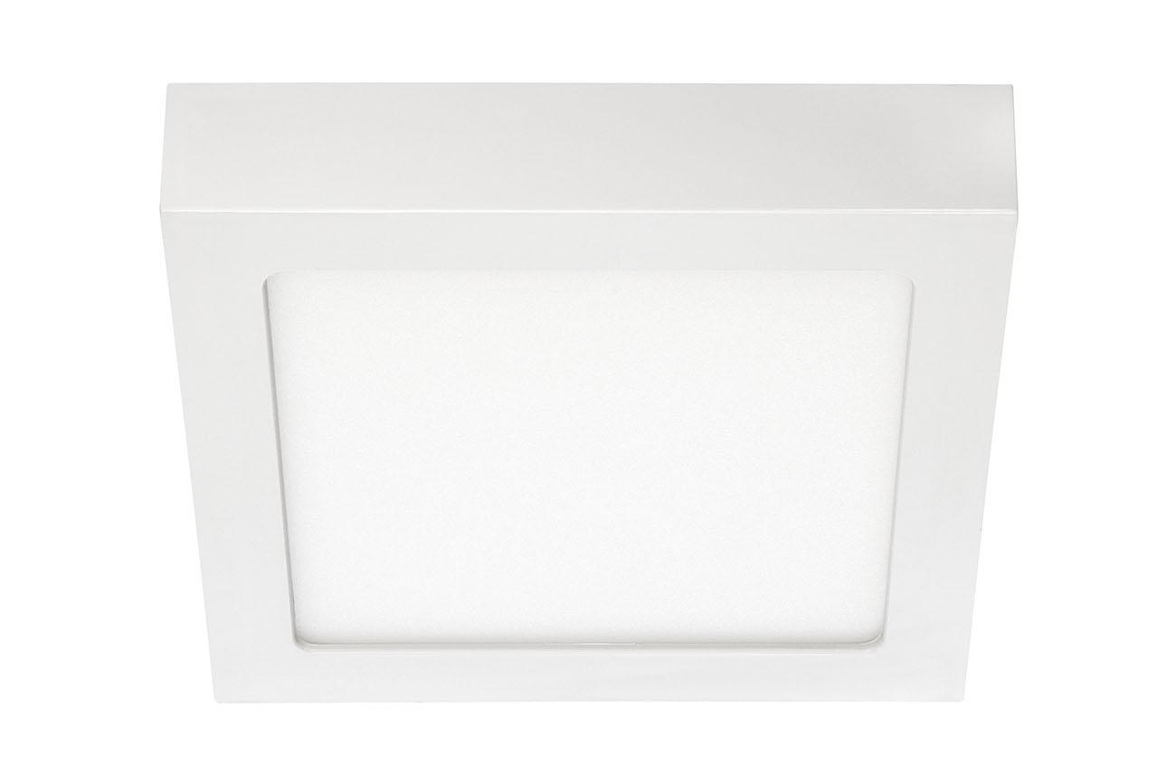 LED Deckenleuchte, 17 cm, 12 W, Weiss