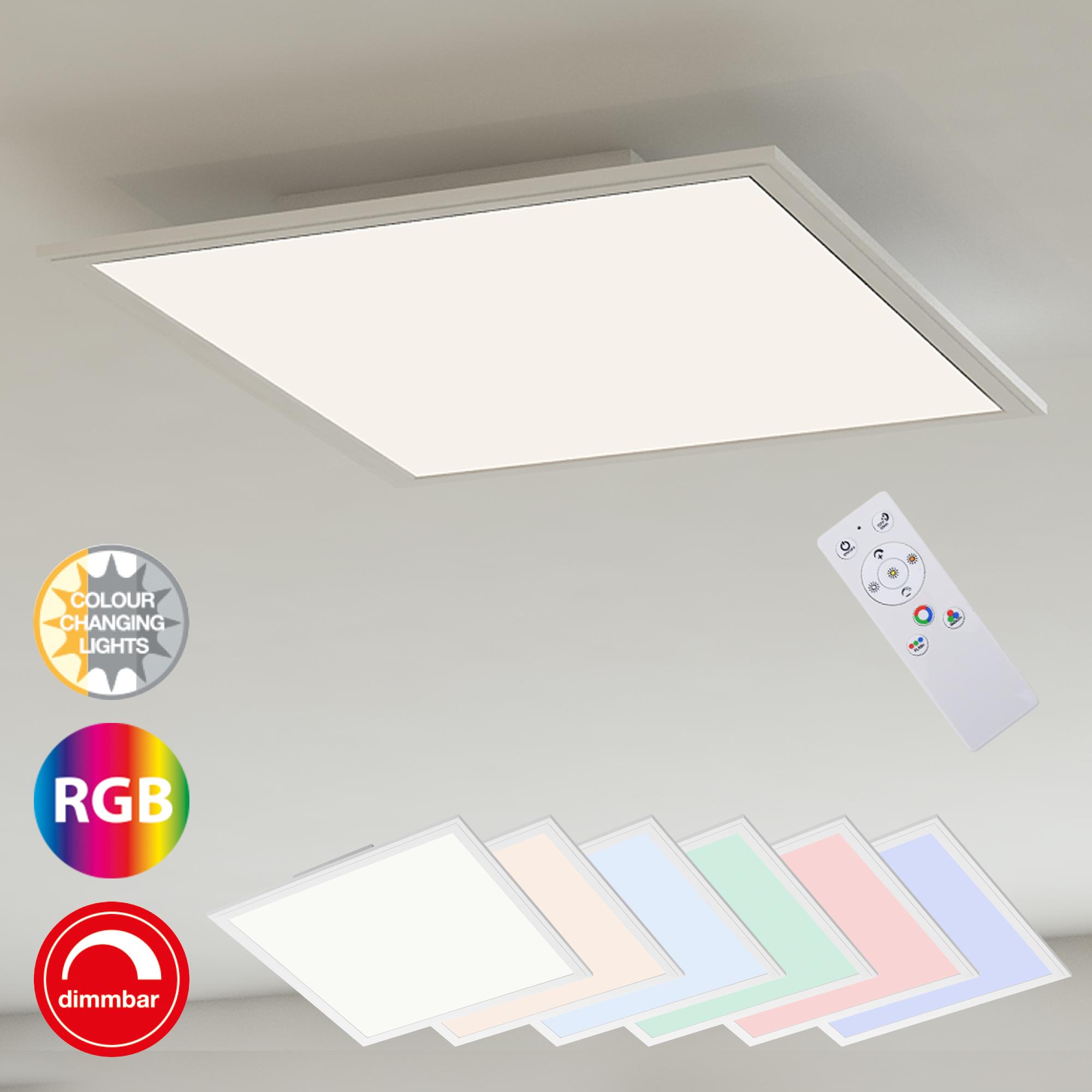 RGB Farbwechsel LED Panel Weiß