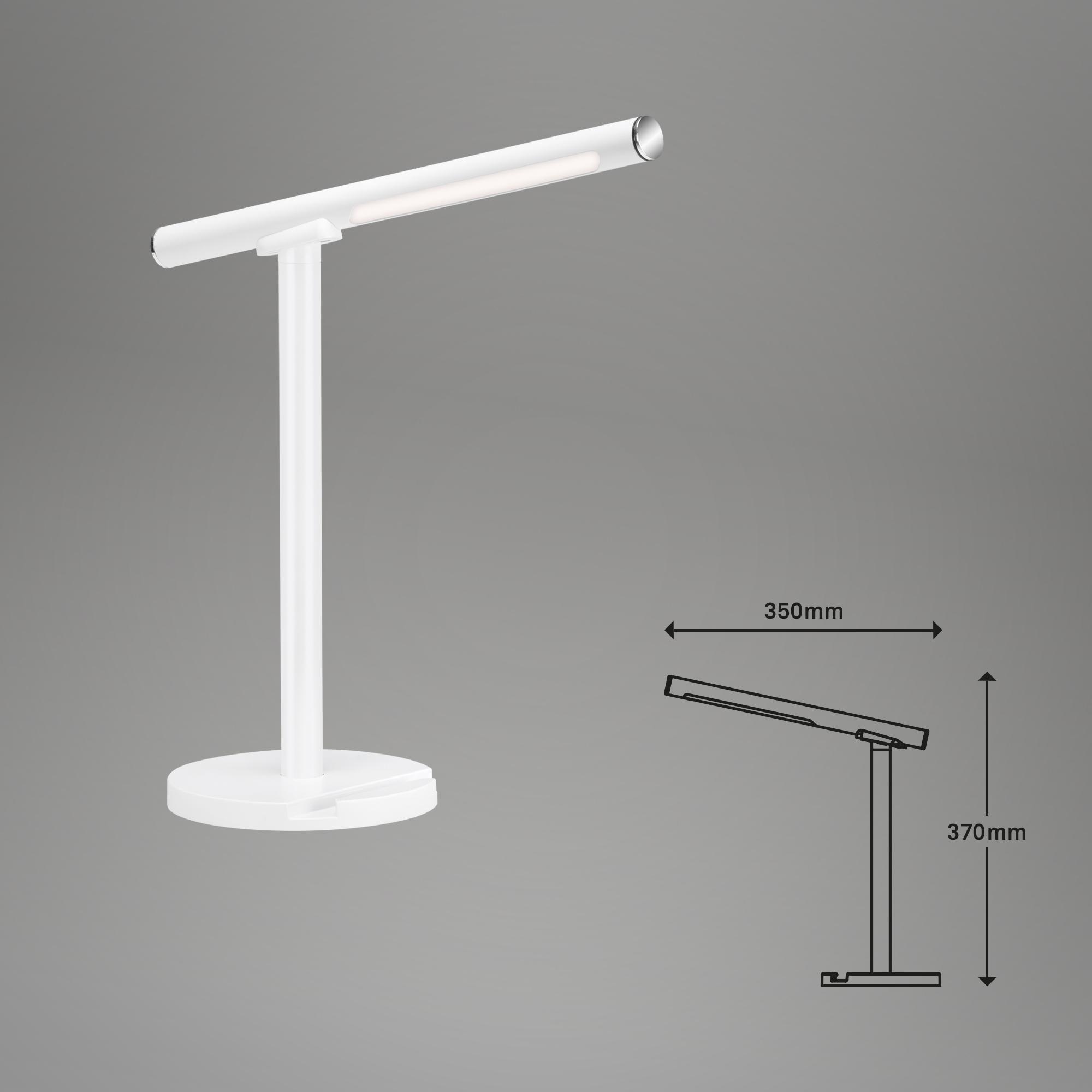 USB LED Wand- und Tischleuchte Weiß