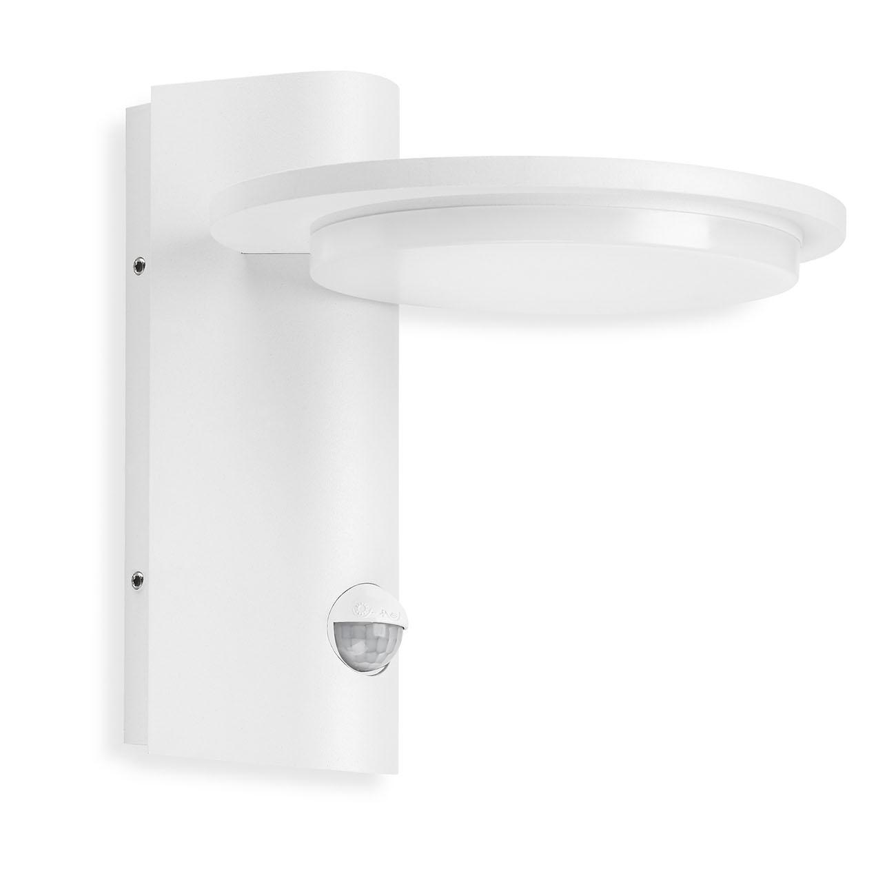 TELEFUNKEN LED Aussenwandleuchte, 18 cm, 10 W, Weiss