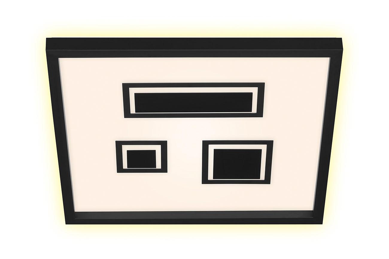 LED Panel, 42,3 cm, 3000 LUMEN, 22 WATT, Schwarz