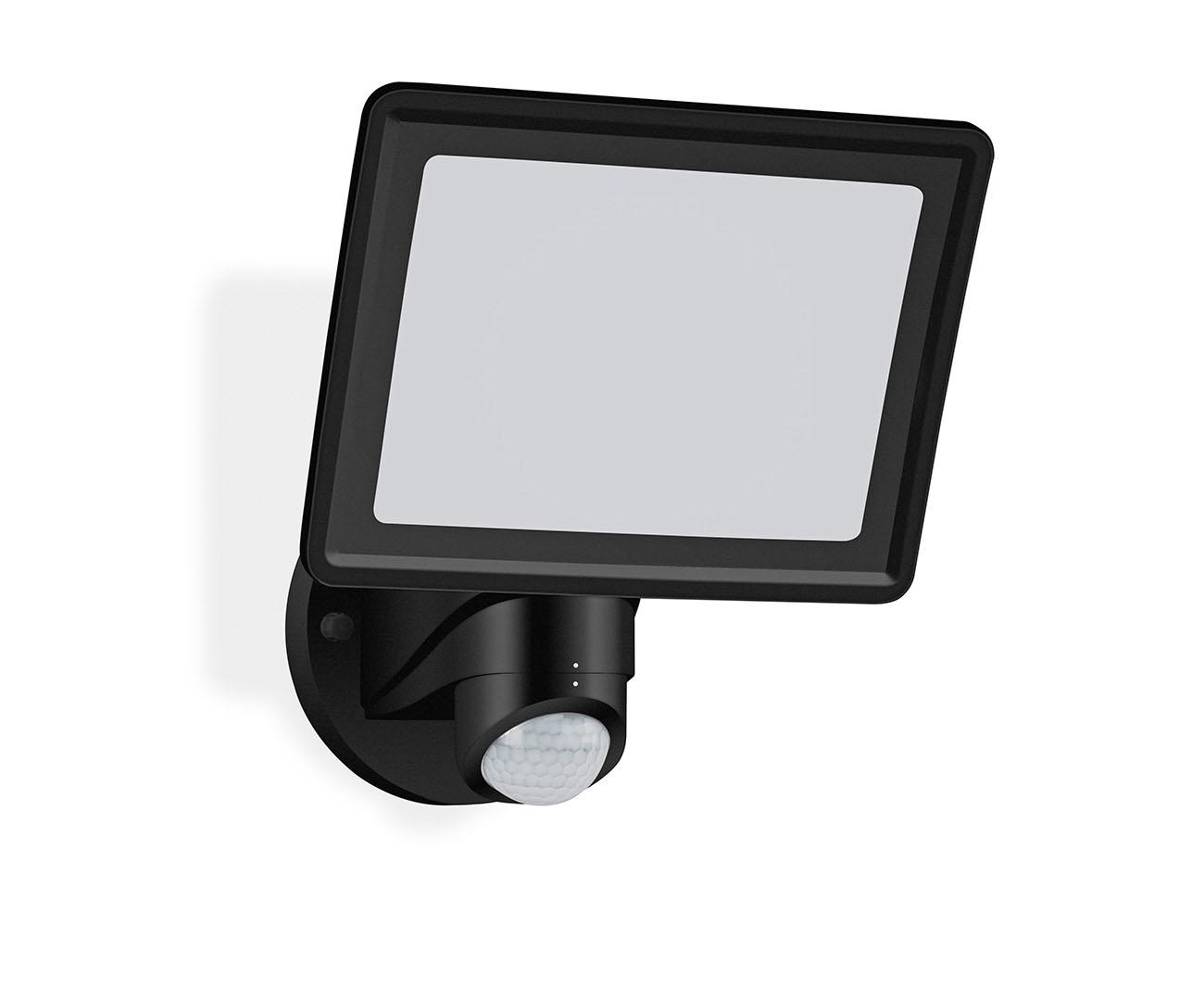 TELEFUNKEN LED Sensor Außenstrahler, 26,3 cm, 20 W, Schwarz