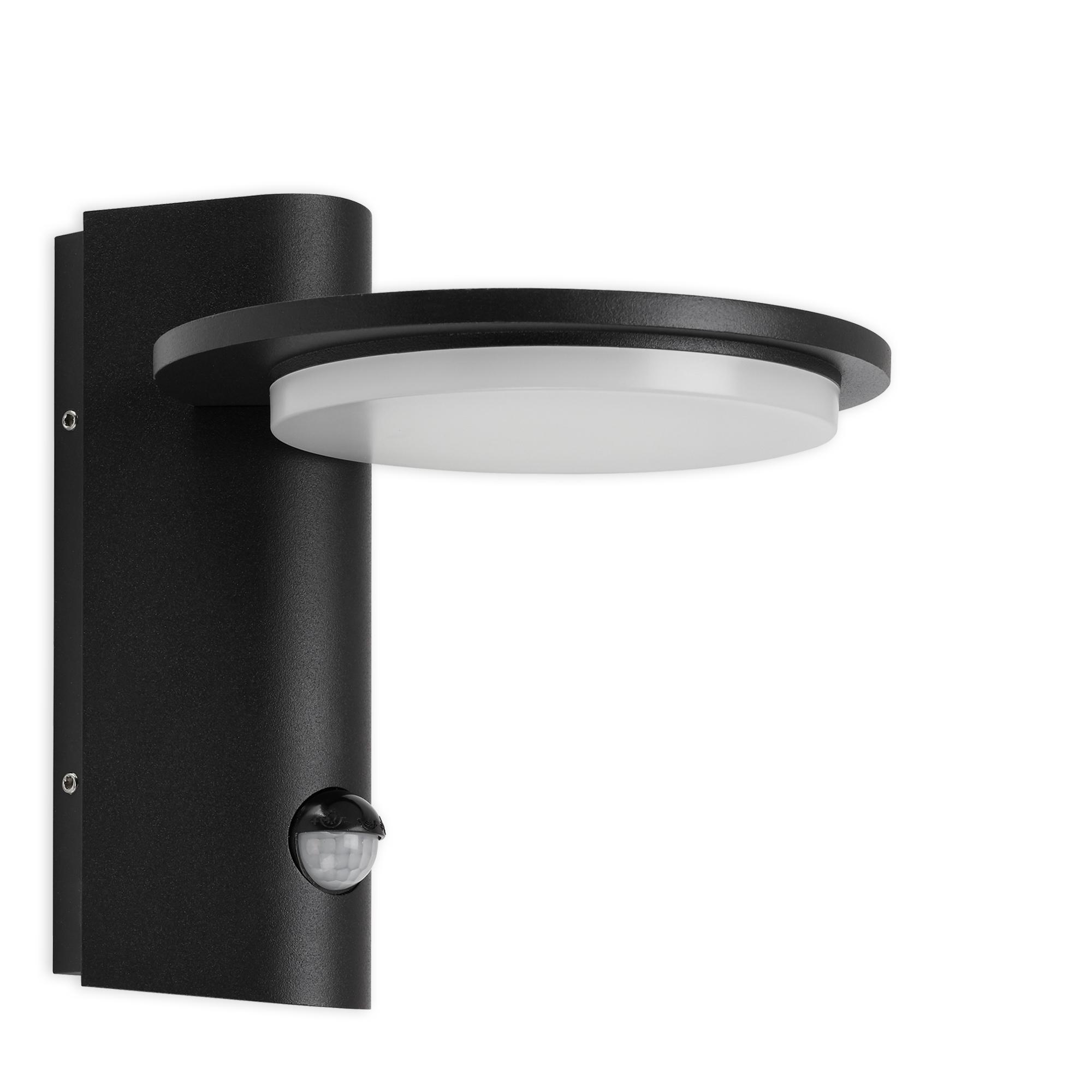 TELEFUNKEN LED Außenwandleuchte, 18 cm, 10 W, Schwarz