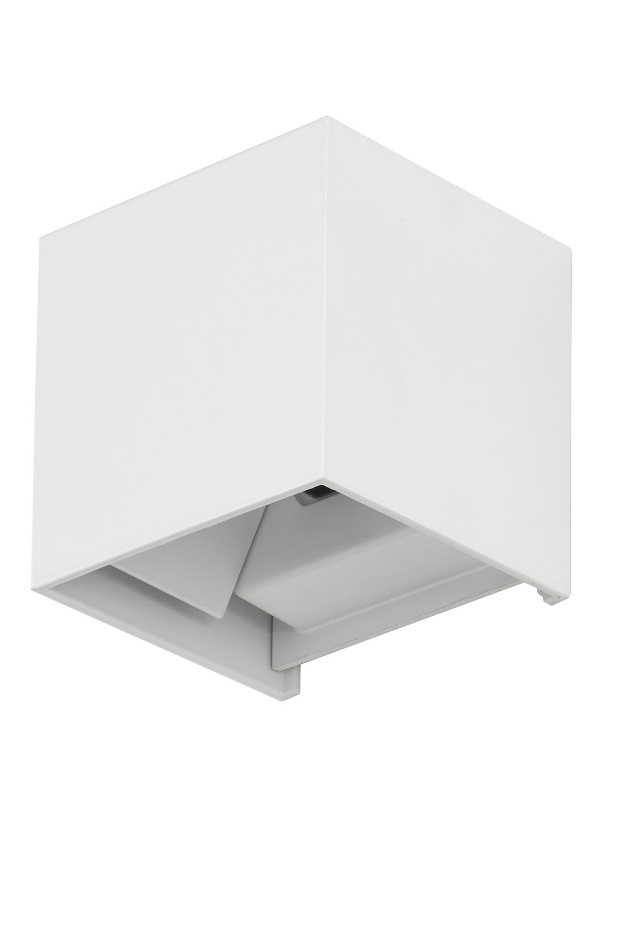 TELEFUNKEN LED Aussenwandleuchte, 11 cm, 7 W, Weiss