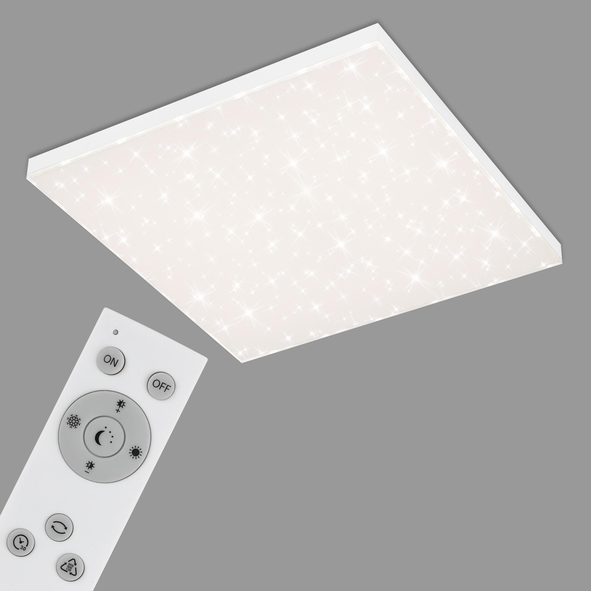 CCT LED Panel, 59,5 cm, 38 W, Weiss