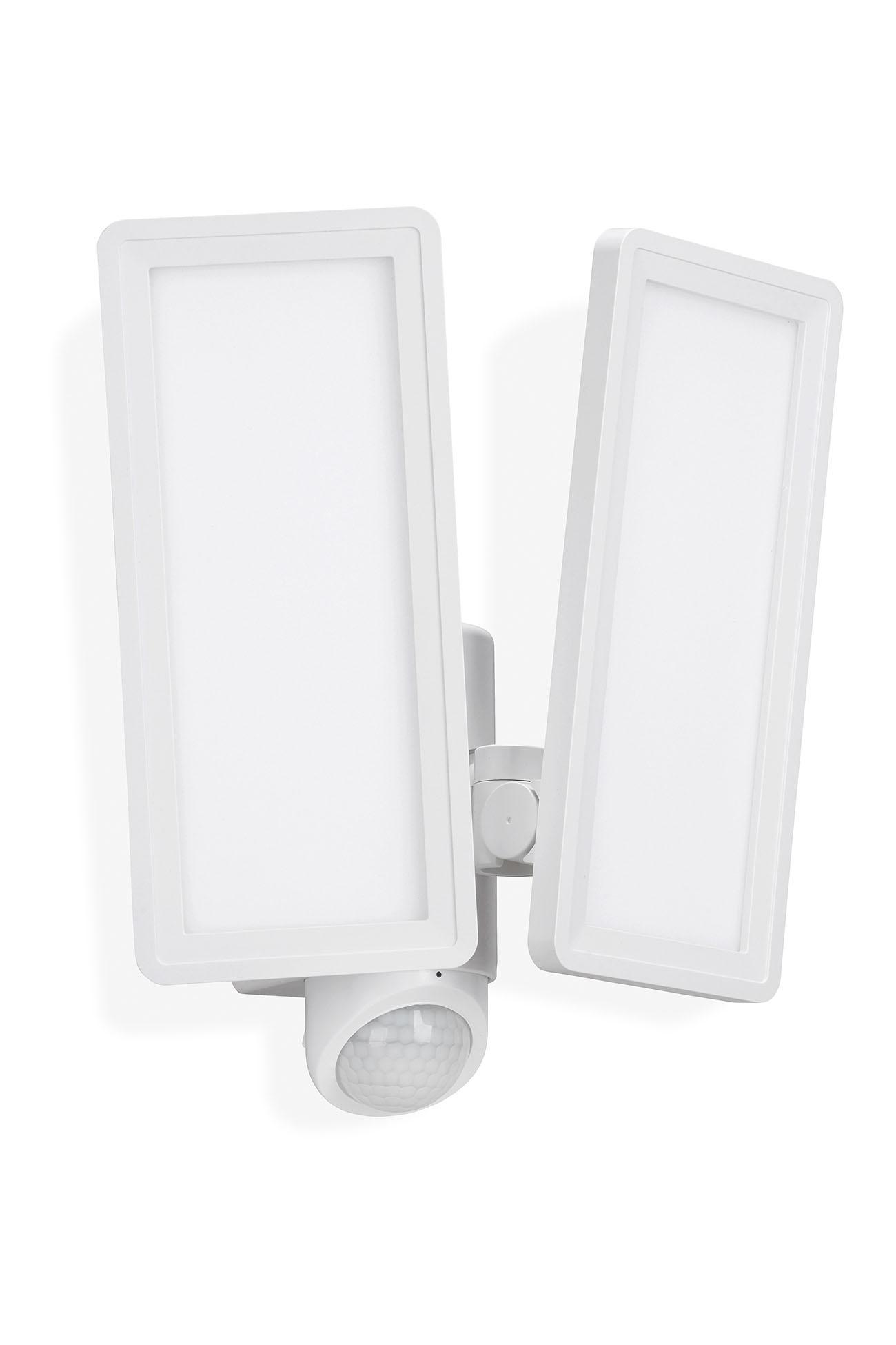 TELEFUNKEN LED Sensor Außenstrahler, 28,7 cm, 24 W, Weiß