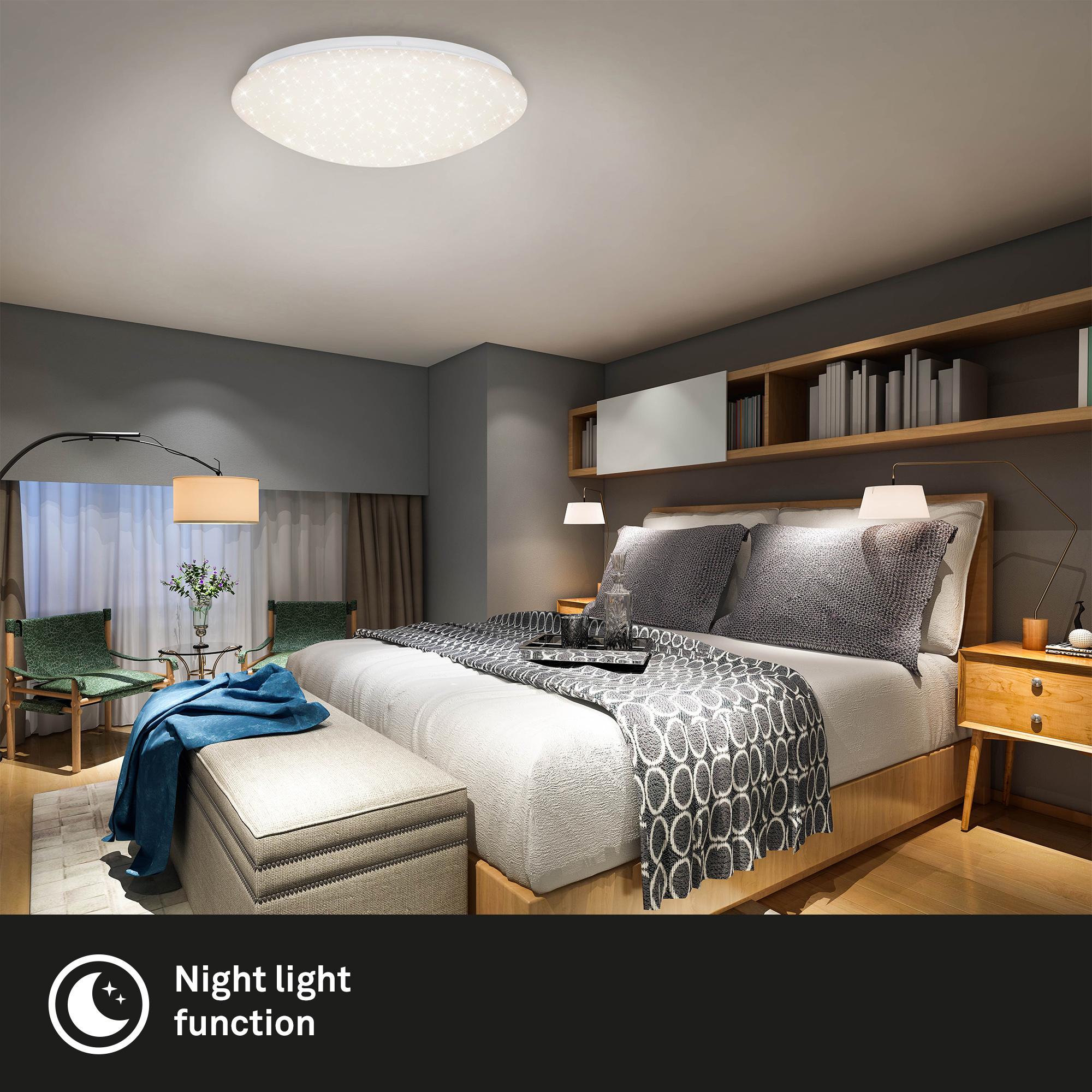 STERNENHIMMEL LED Deckenleuchte, Ø 49,5 cm, 40 W, Weiß