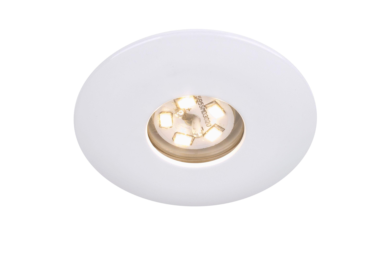 LED Einbauleuchte, Ø 4,5 cm, 1,8 W, Weiß