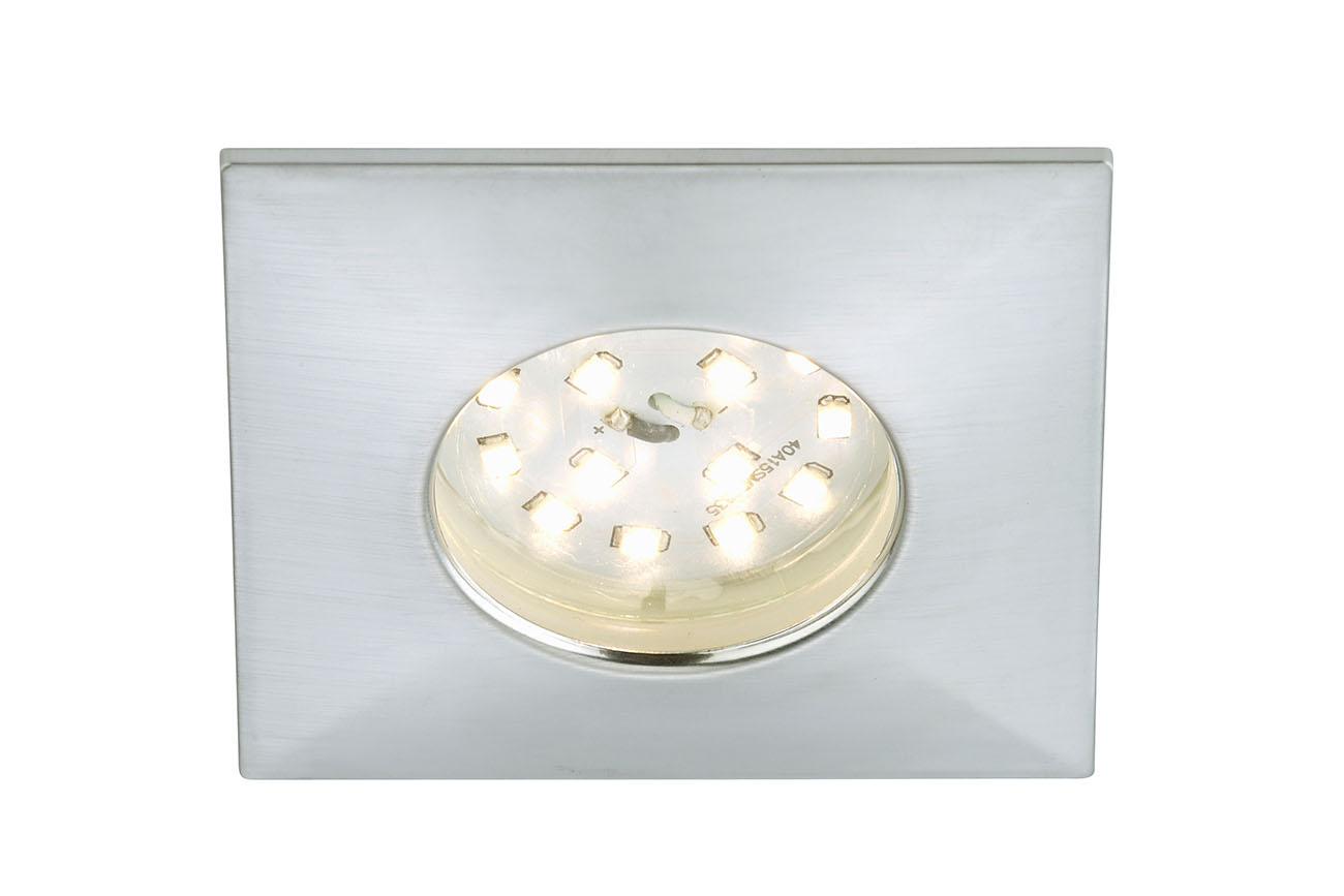 LED Einbauleuchte, 7,5 cm, 5 W, Alu
