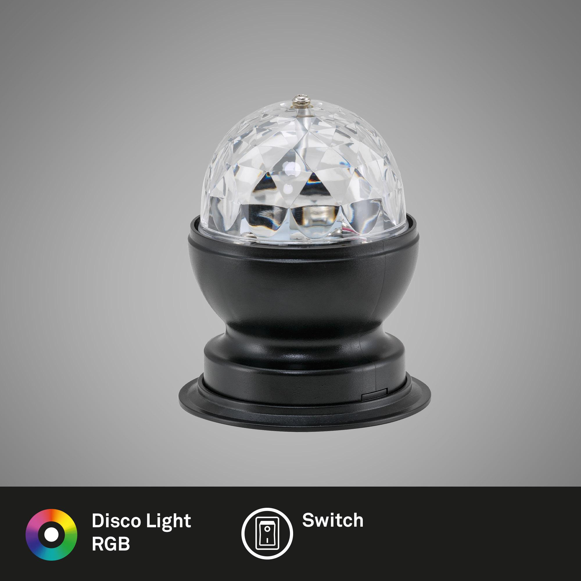 RGB LED Tischleuchte Schwarz