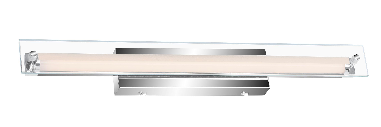 LED Wand- und Spiegelleuchte, 45 cm, 5 W, Chrom