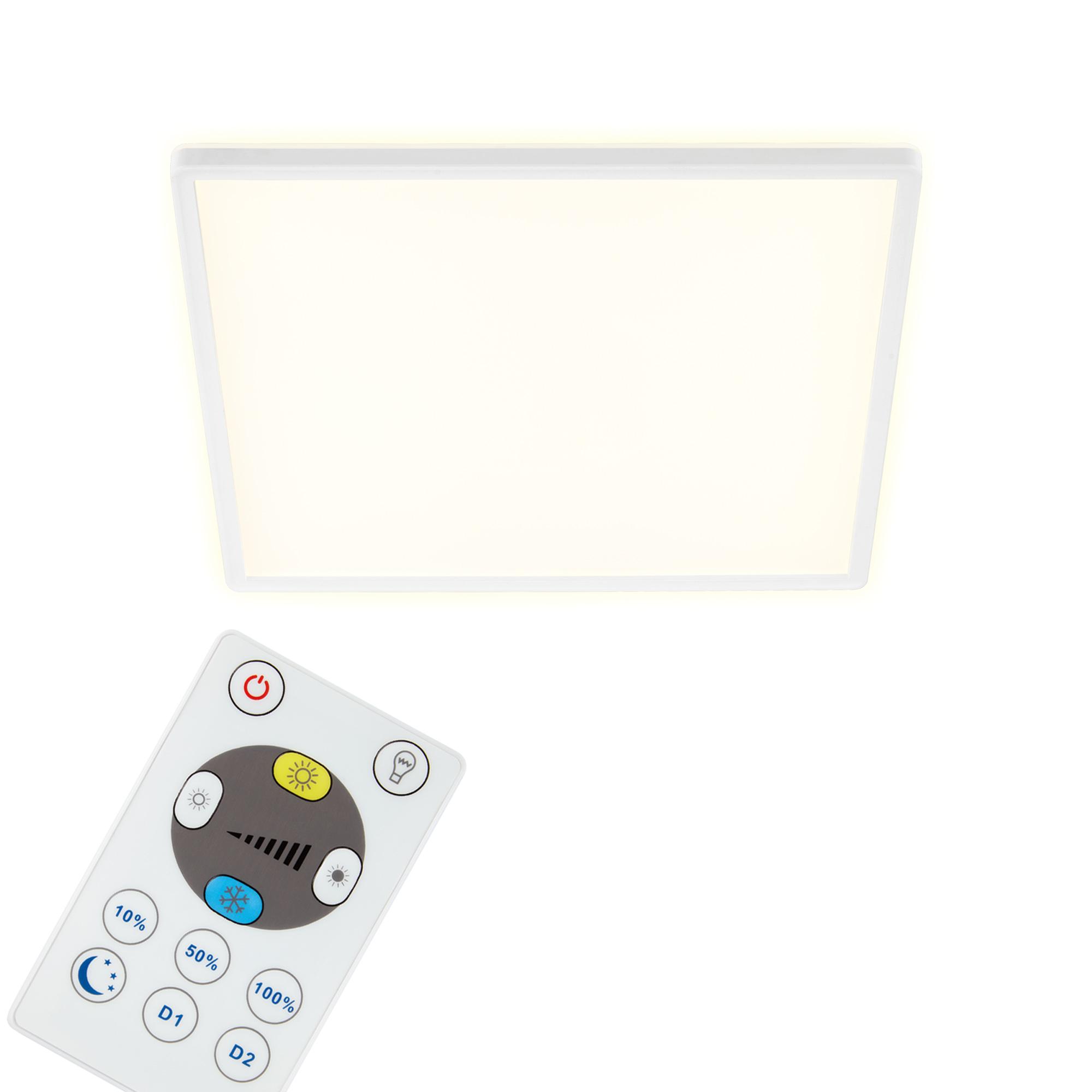 SLIM CCT LED Panel, 42 cm, 22 W, Weiß