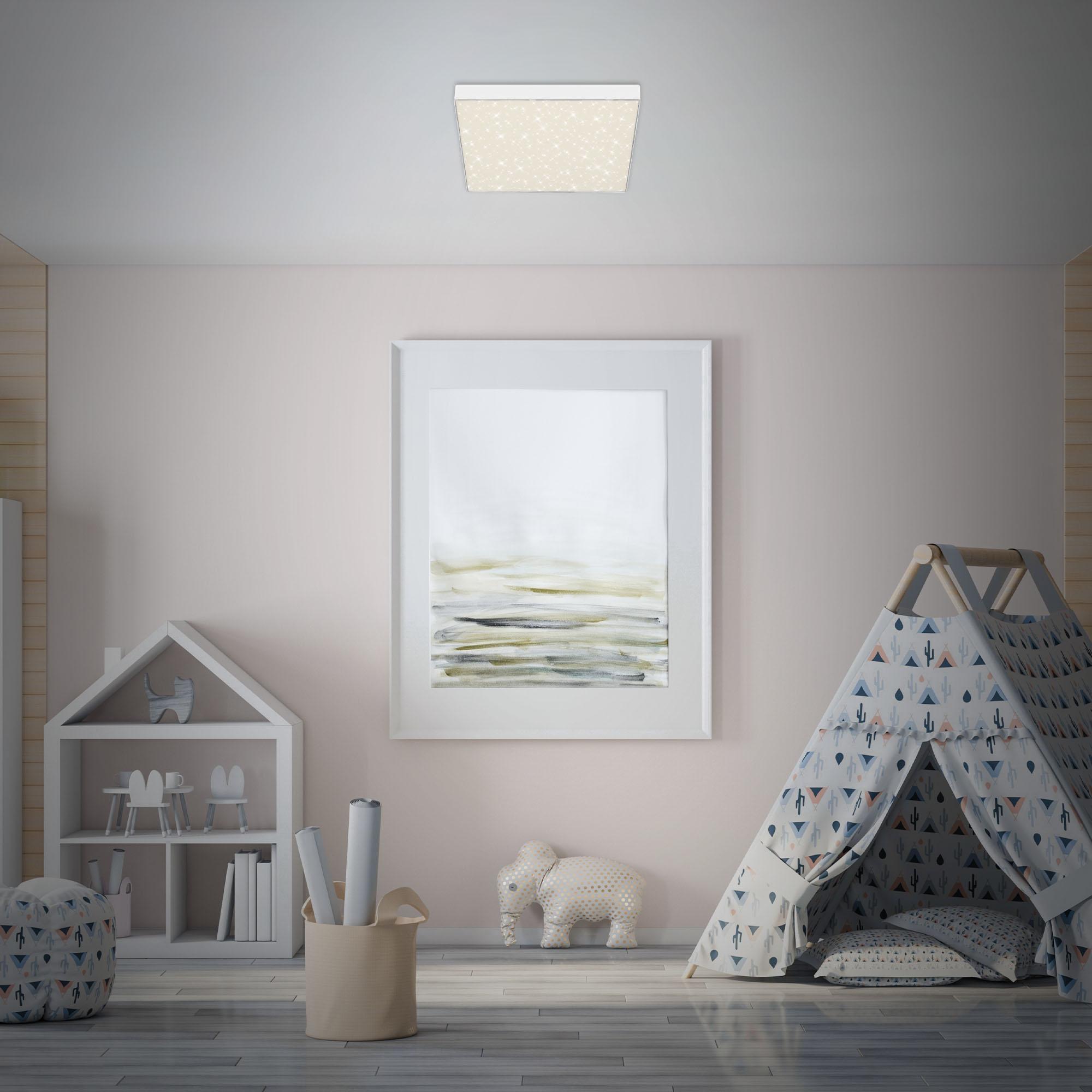 STERNENHIMMEL LED Deckenleuchte, 28,7 cm, 21 W, Weiß