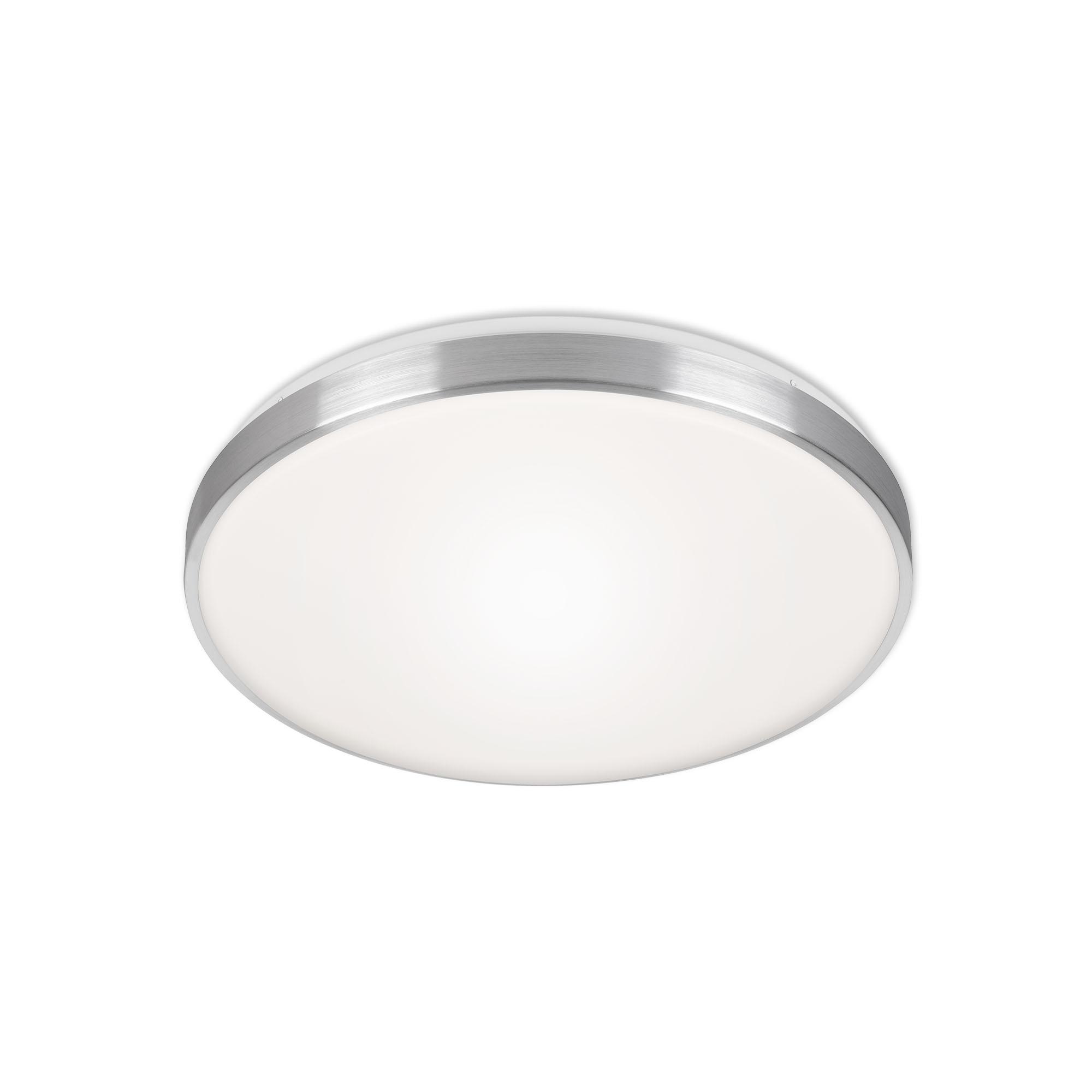 CCT LED Deckenleuchte, Ø 47 cm, 48 W, Alu