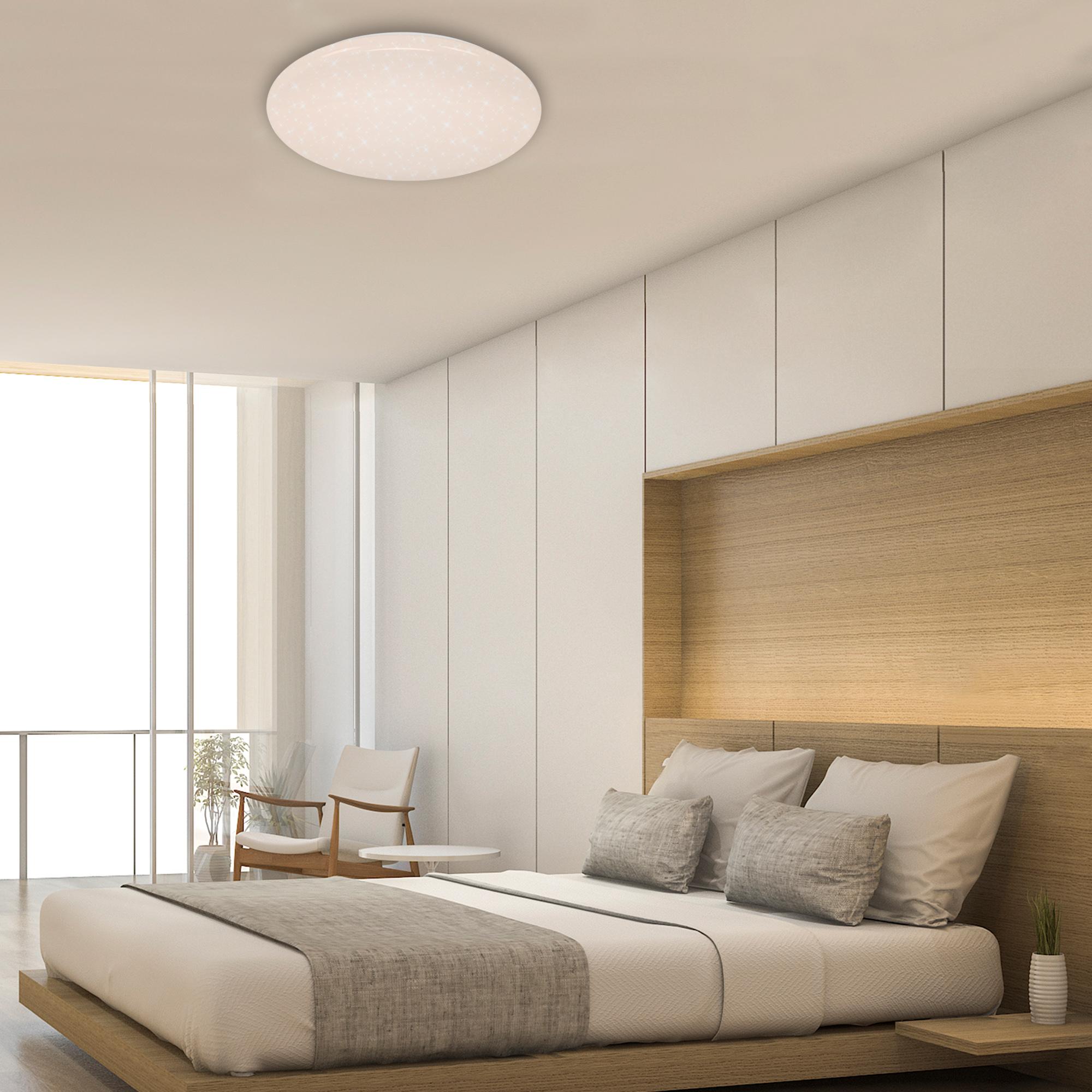 RGB Farbwechsel LED Deckenleuchte Weiß