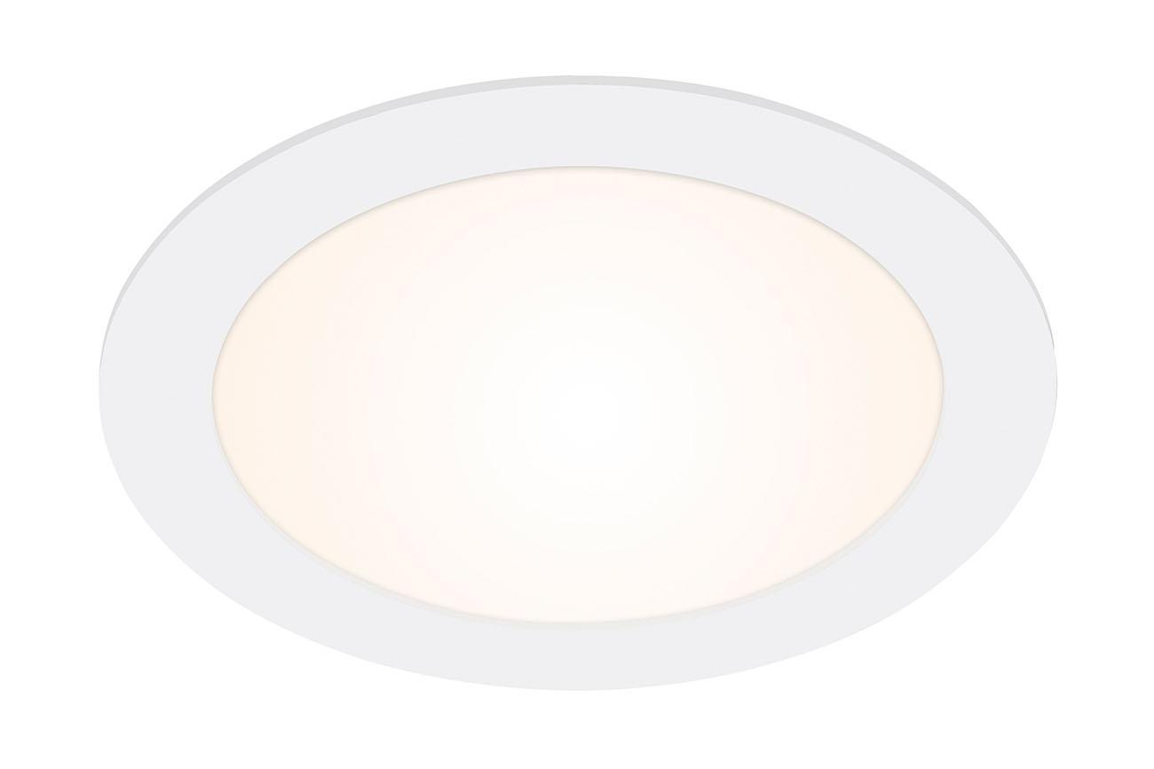 LED Einbauleuchte, Ø 17 cm, 12 W, Weiß