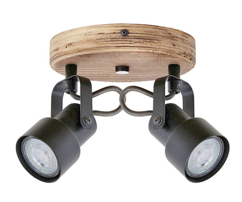 LED Spot Deckenleuchte, Ø 15,5 cm, 10 W, Grau