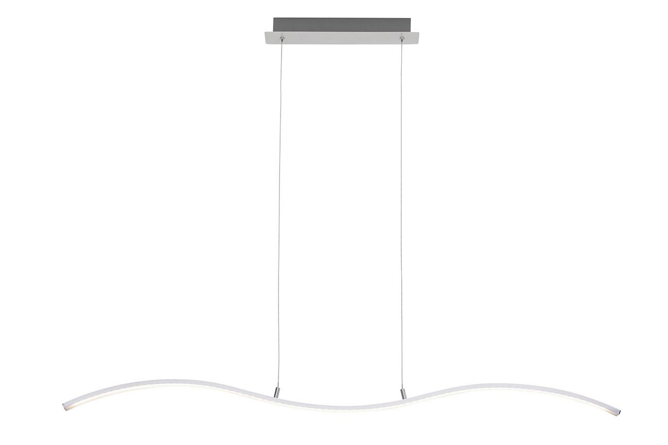 LED Pendelleuchte, 120 cm, 15 W, Alu