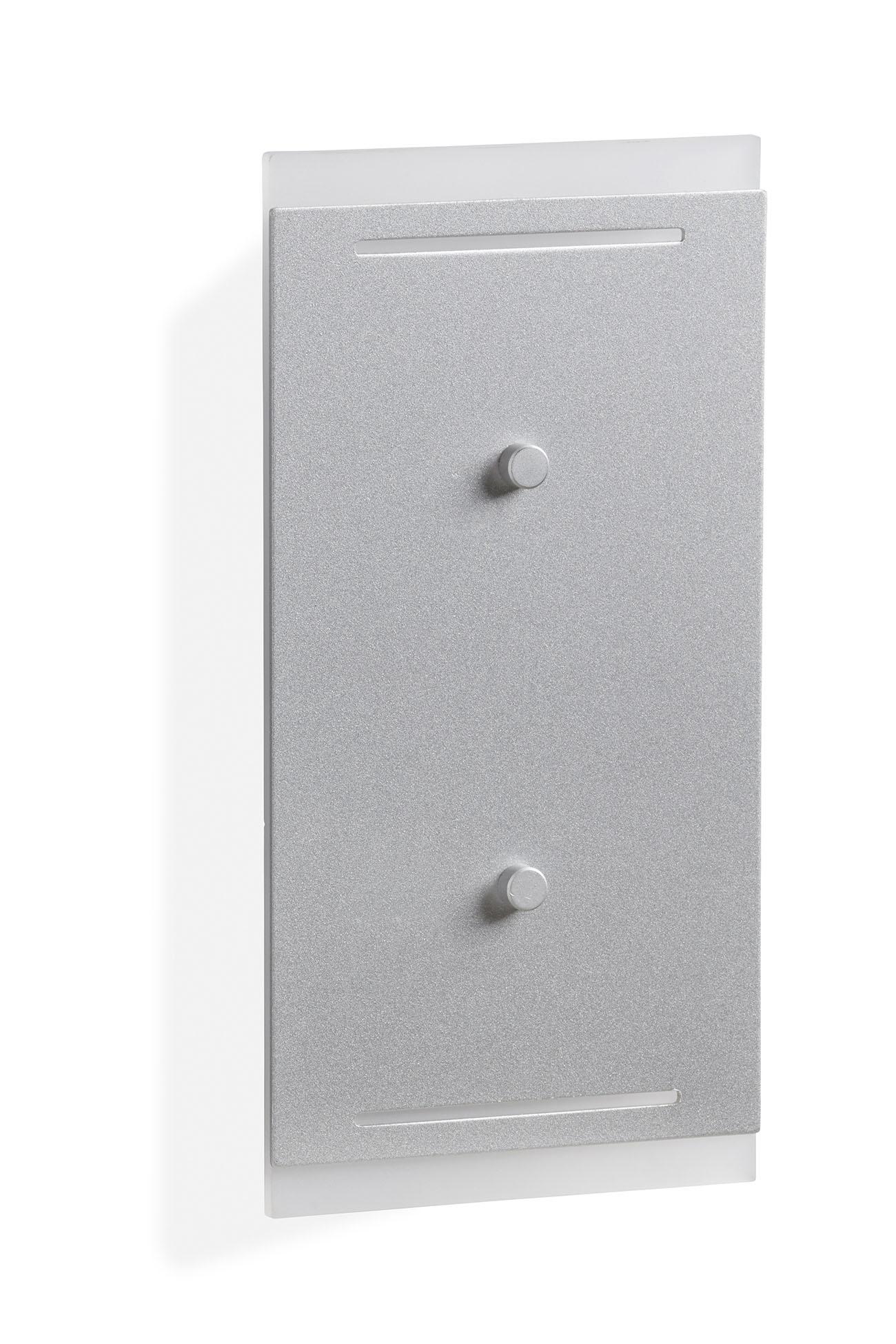TELLEFUNKEN LED Aussenleuchte, 24 cm, 7,5 W, Silber